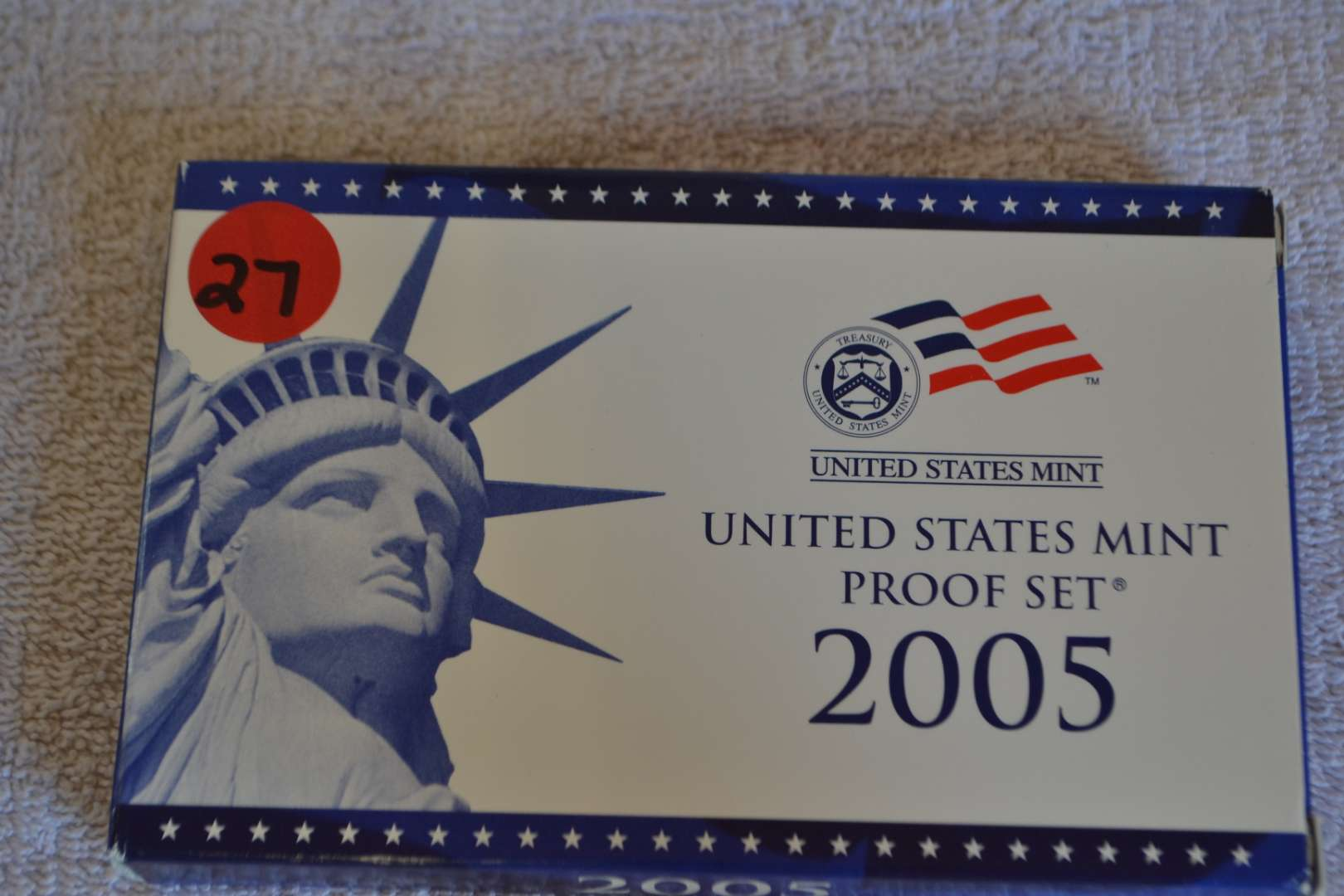 Lot # 27 2005 UNITED STATES PROOF SET