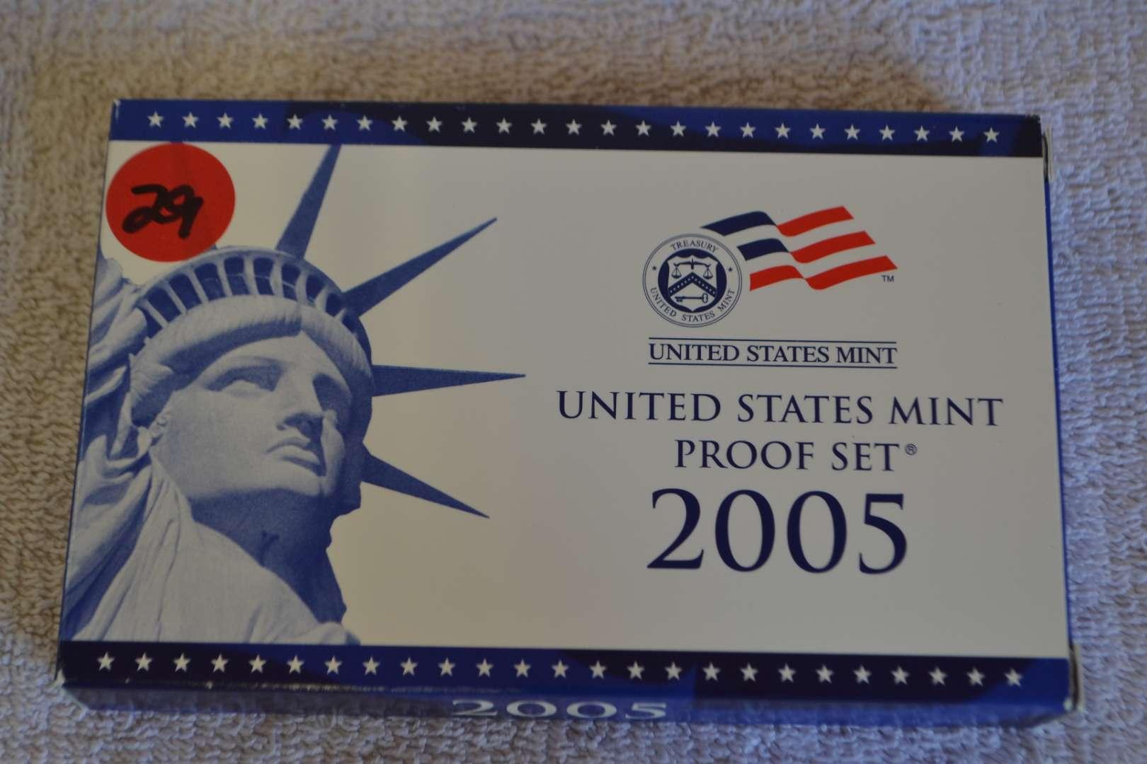 Lot # 29 2005 UNITED STATES PROOF SET