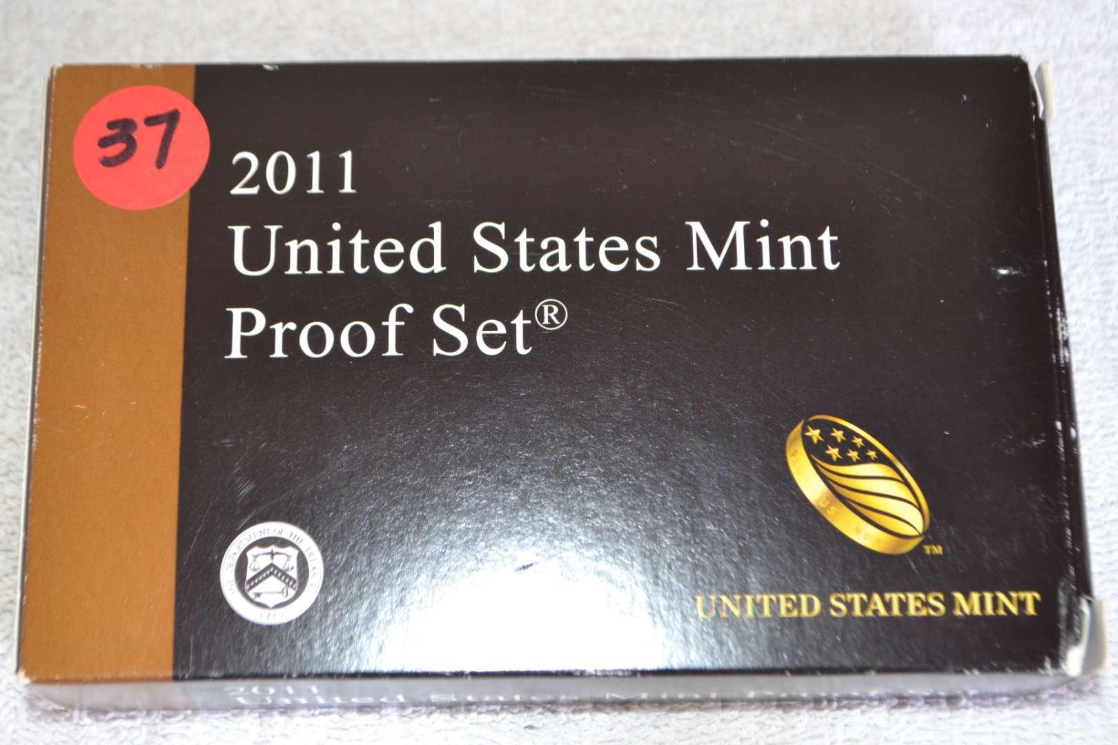 Lot # 37 2011 UNITED STATES MINT PROOF SET
