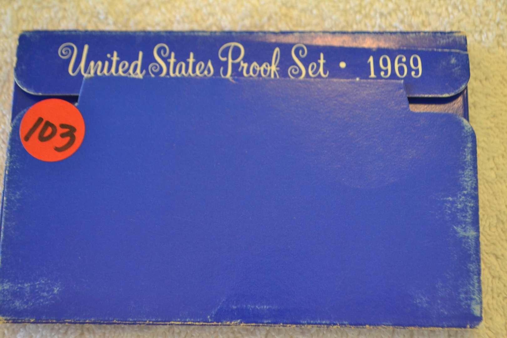 Lot # 103 1969 UNITED STATES PROOF SET