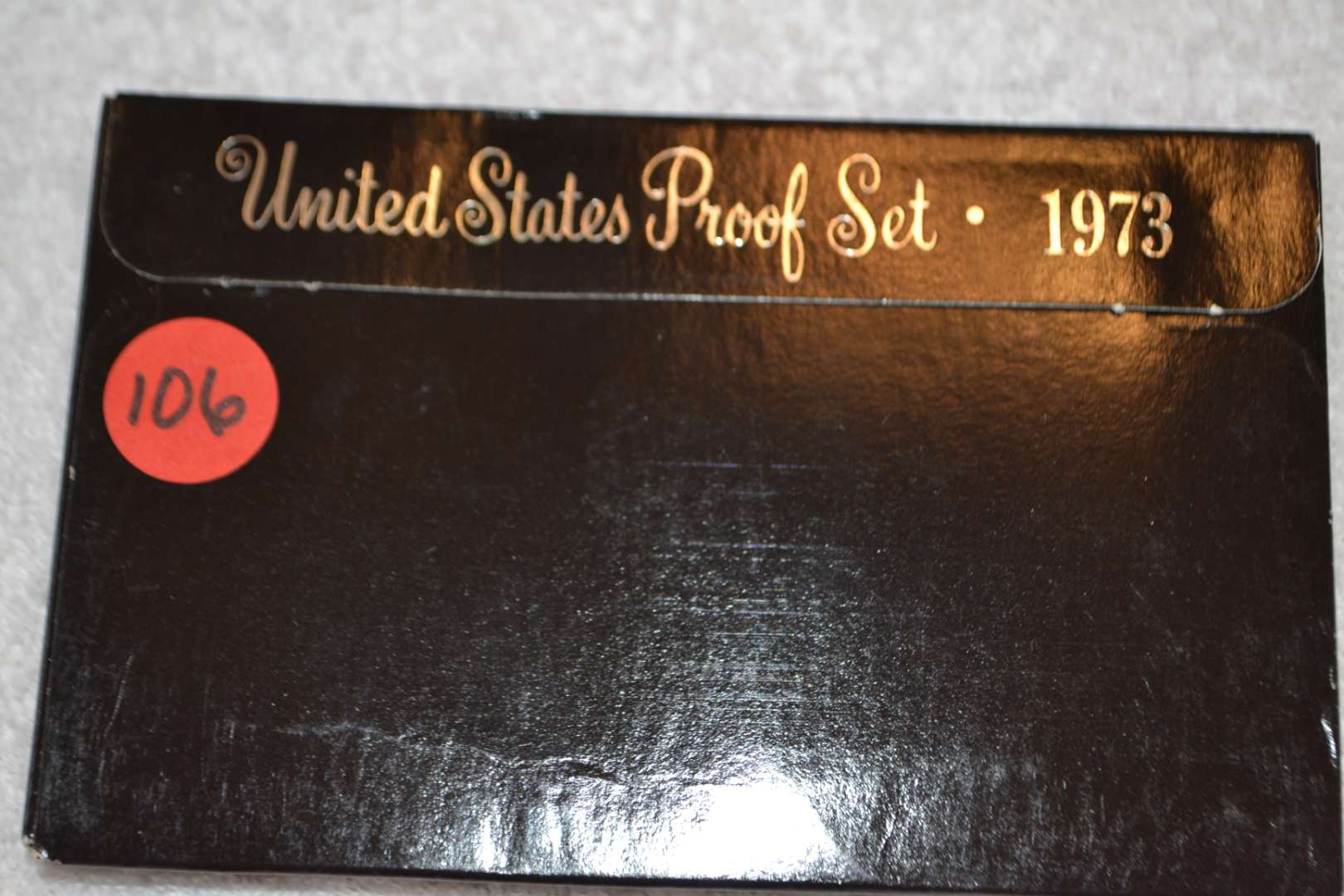 Lot # 106 1973 UNITED STATES PROOF SET