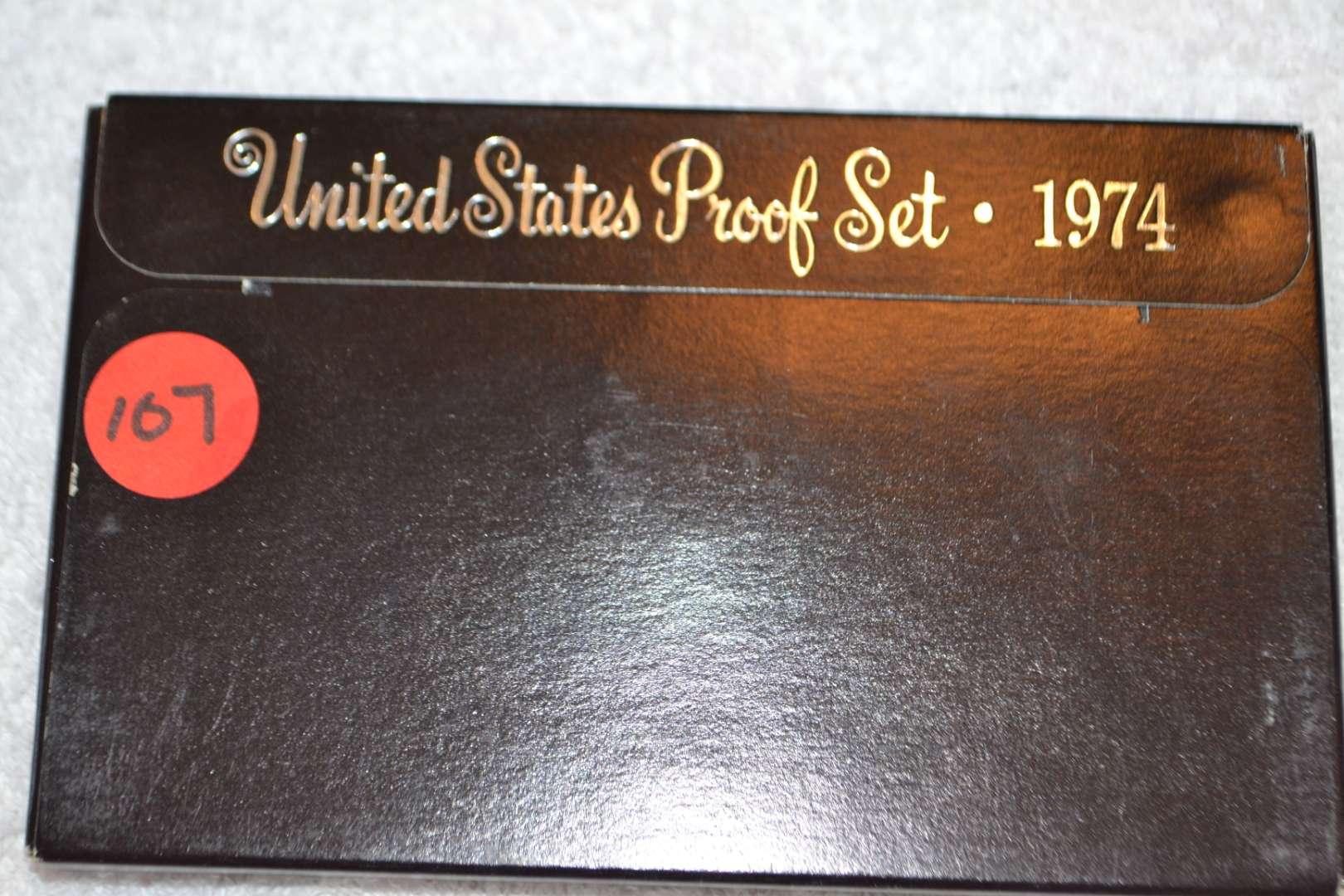 Lot # 107 1974 UNITED STATES PROOF SET