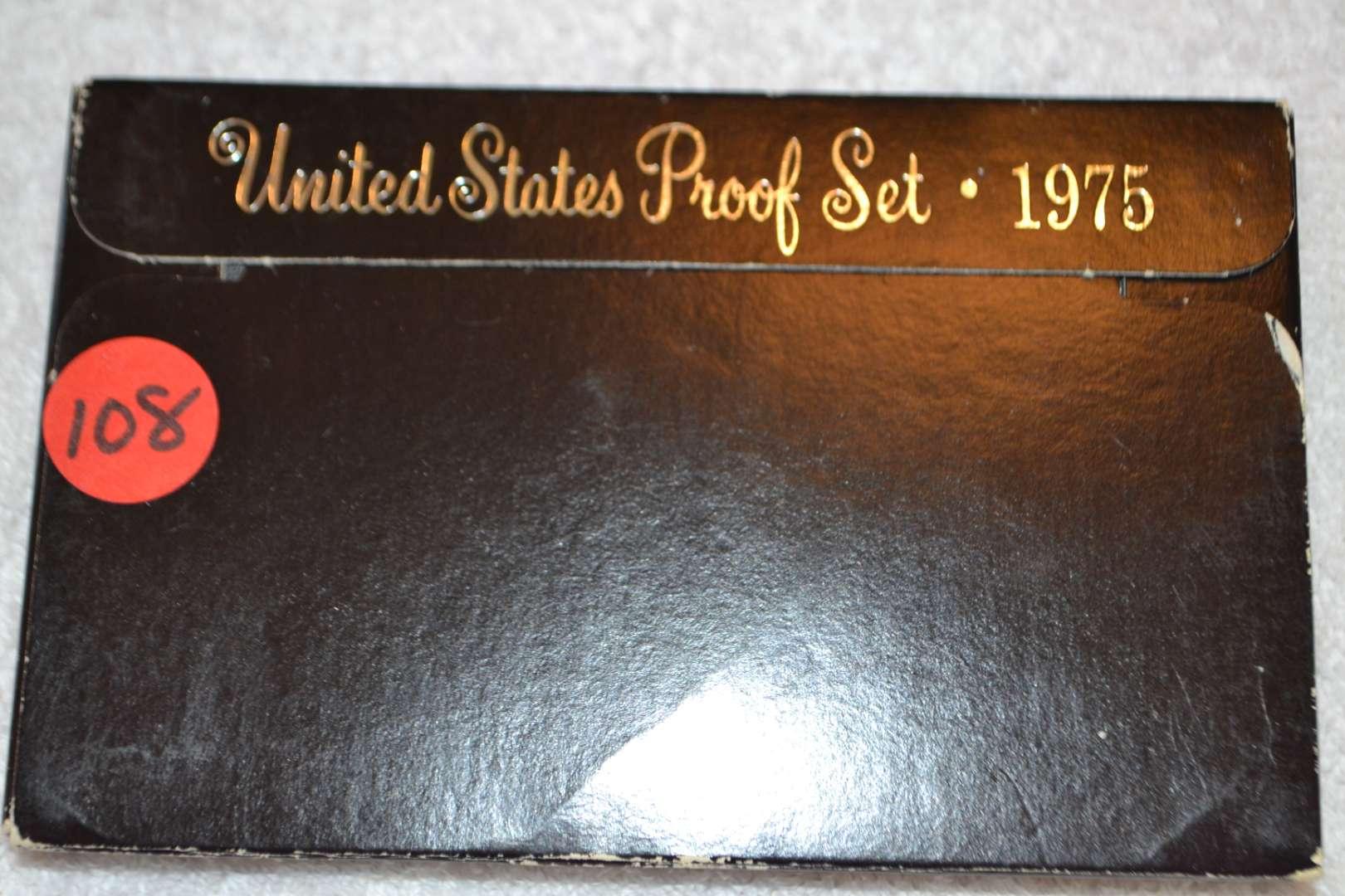 Lot # 108 1975 UNITED STATES PROOF SET