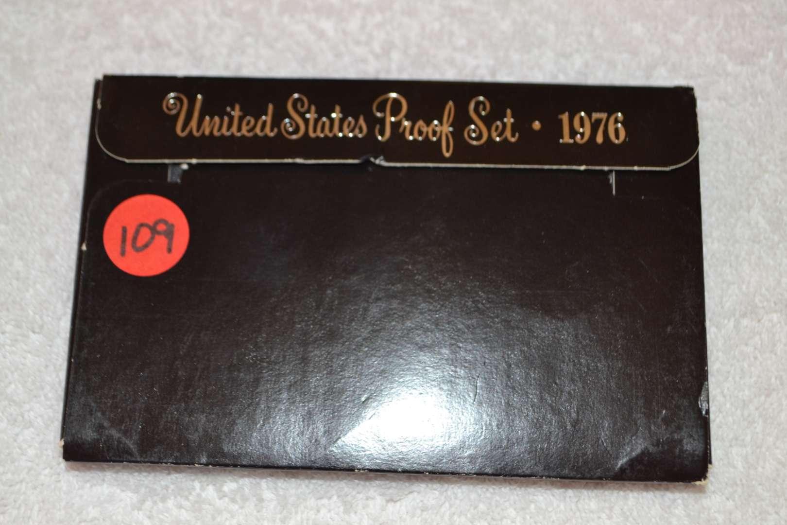 Lot # 109 1976 UNITED STATES PROOF SET