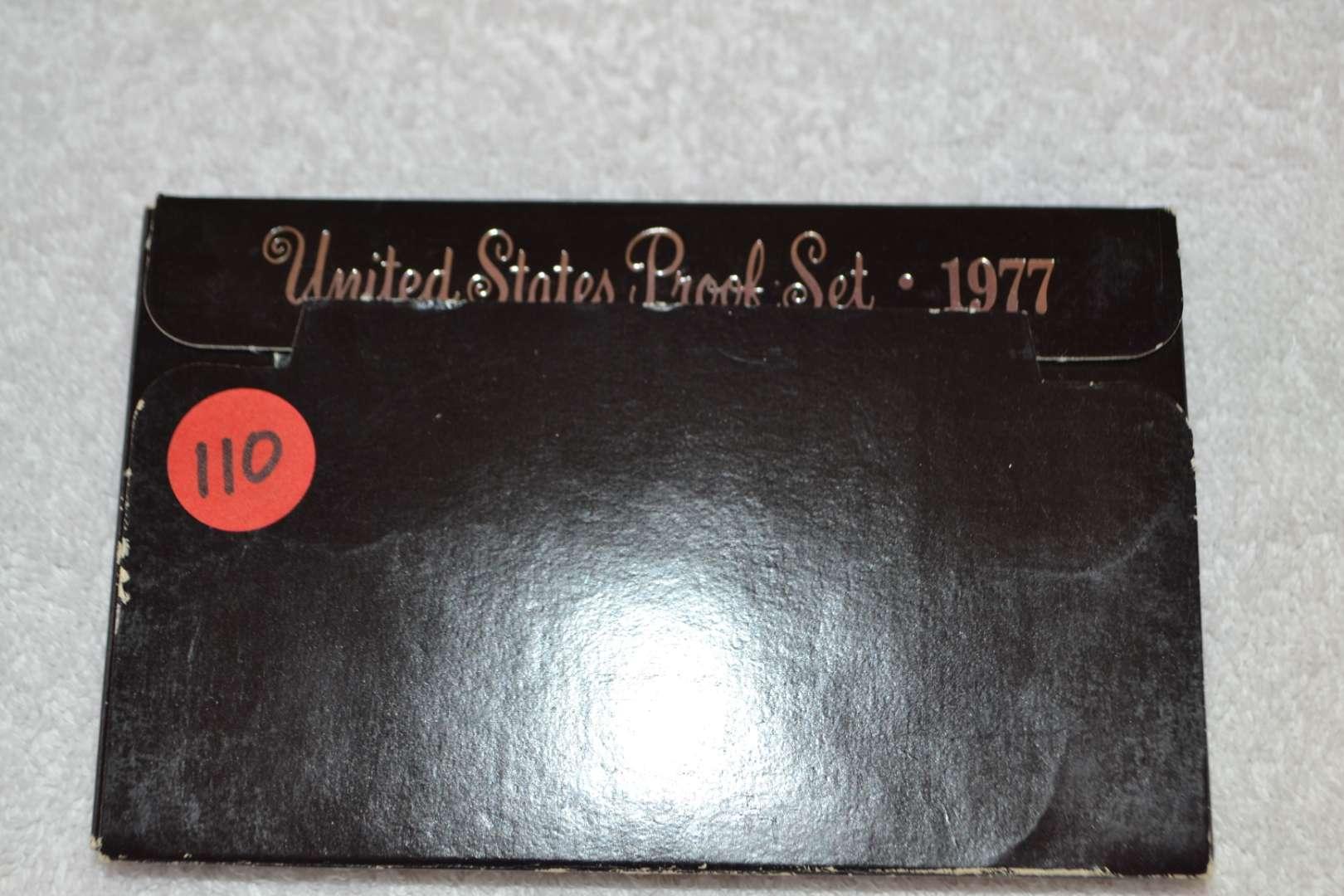 Lot # 110 1977 UNITED STATES PROOF SET
