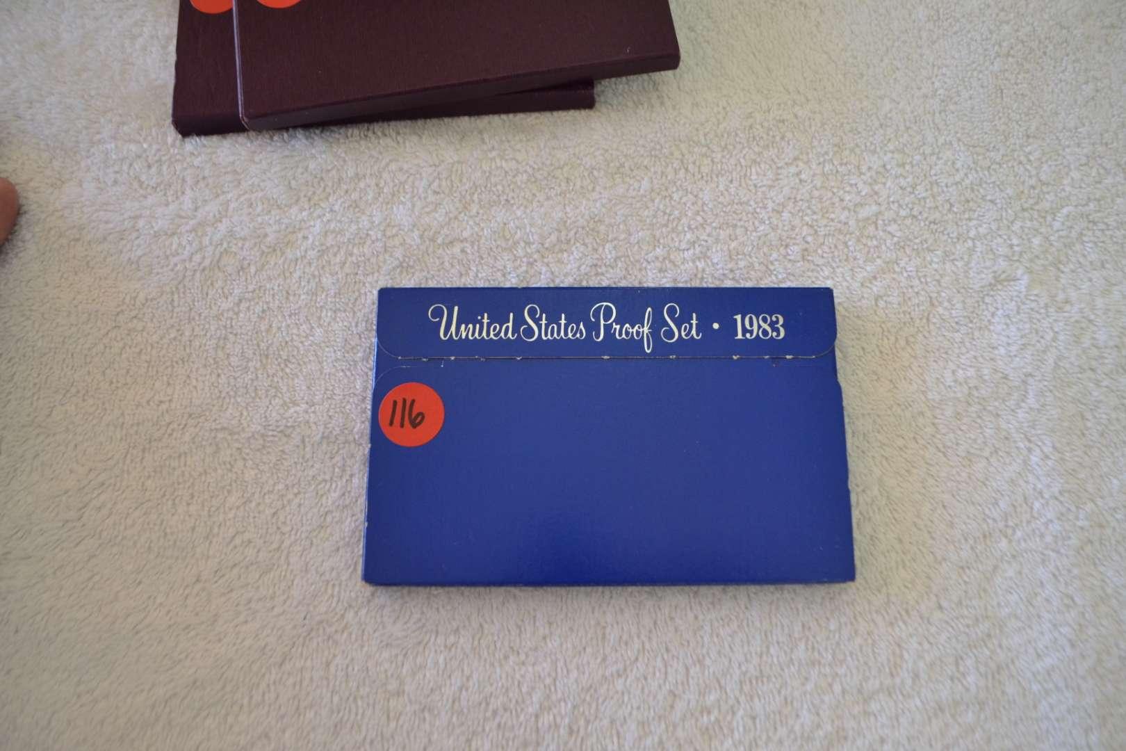 Lot # 116 1983 UNITED STATES PROOF SET
