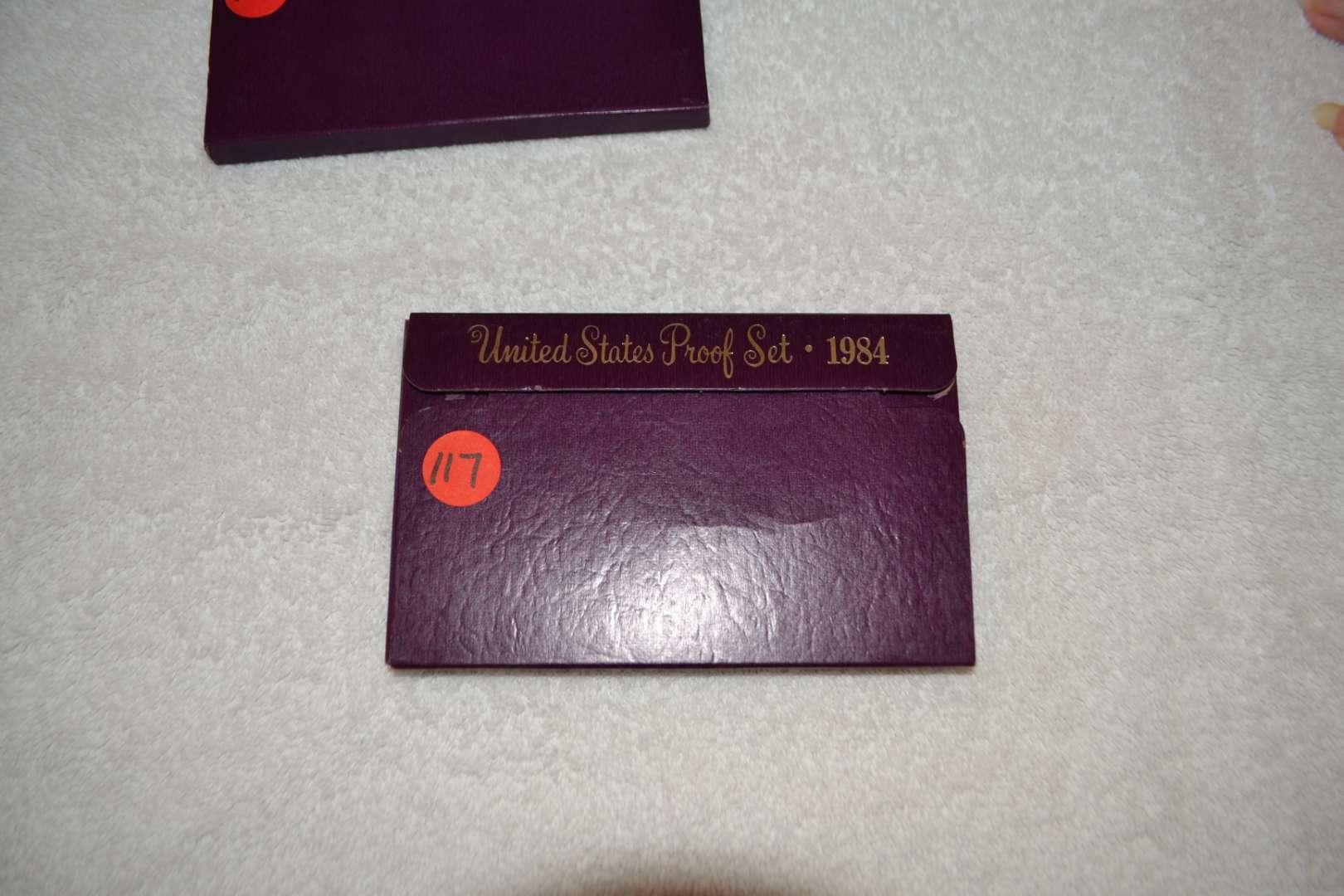 Lot # 117 1984 UNITED STATES PROOF SET