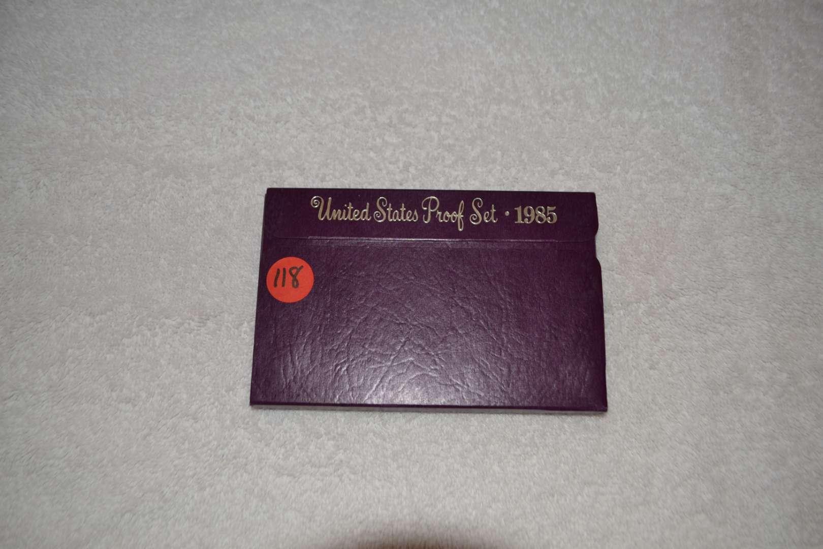 Lot # 118 1985 UNITED STATES PROOF SET
