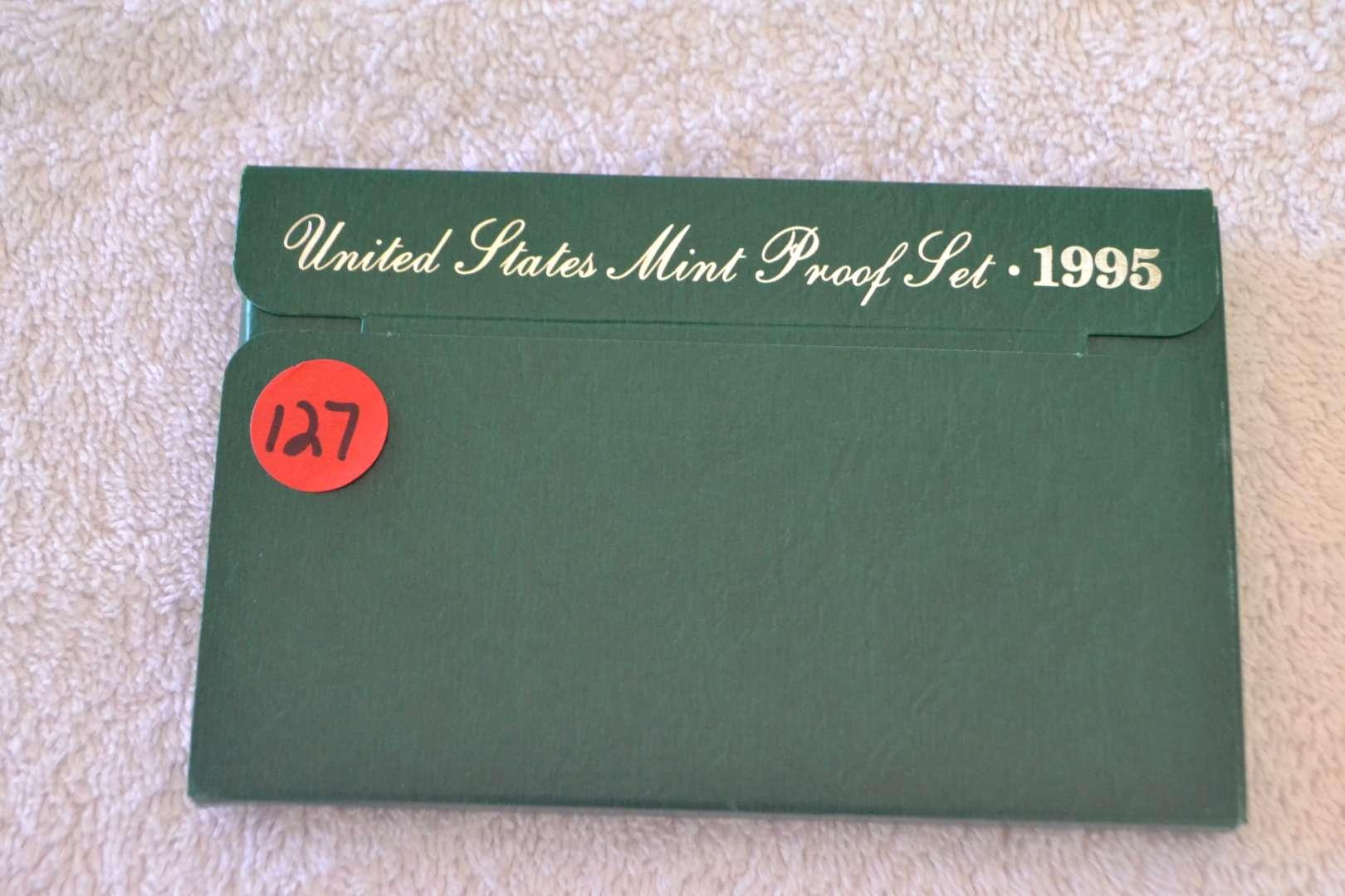 Lot # 127 1995 UNITED STATES PROOF SET