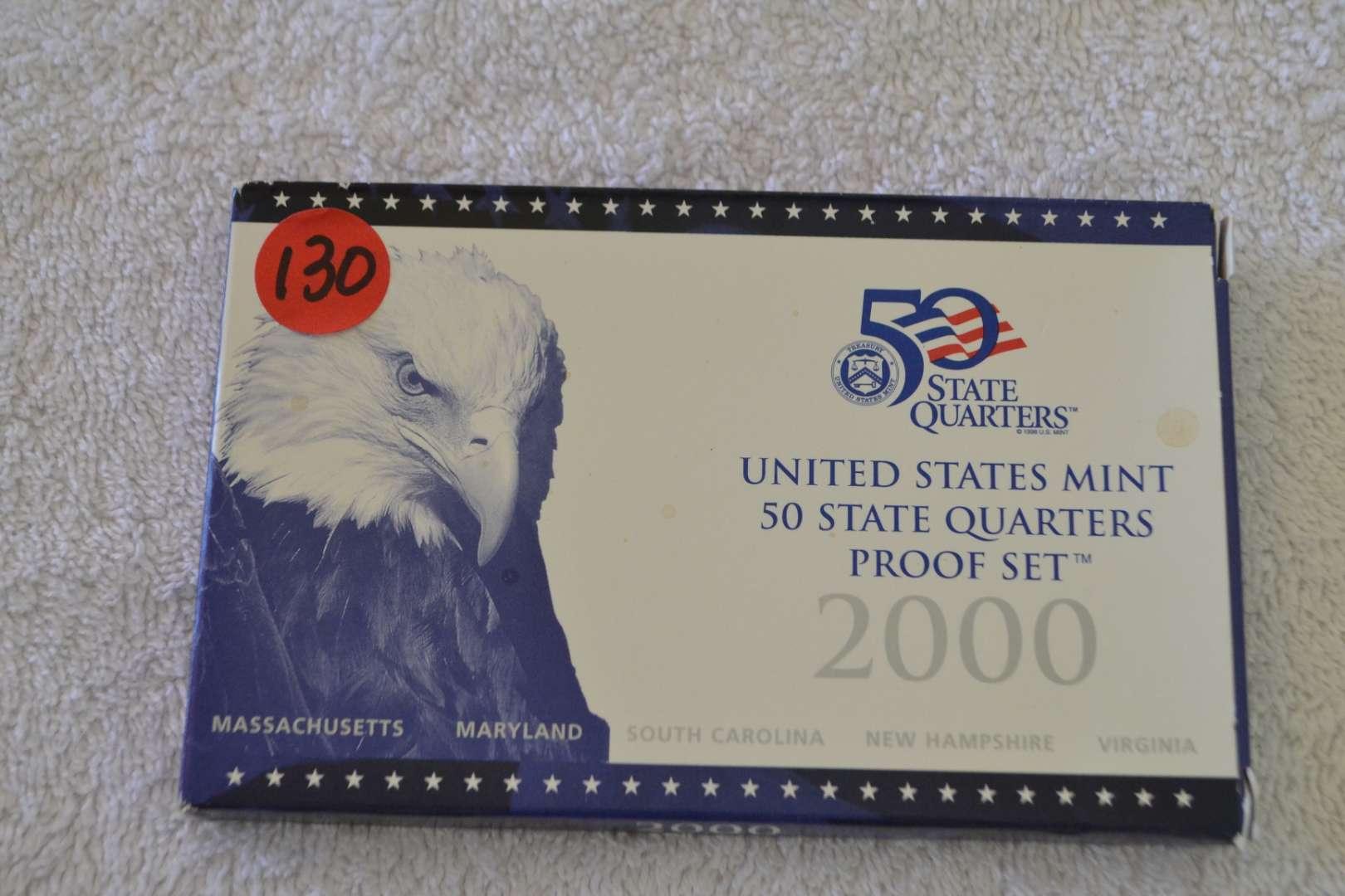 Lot # 130 2000 UNITED STATES PROOF SET