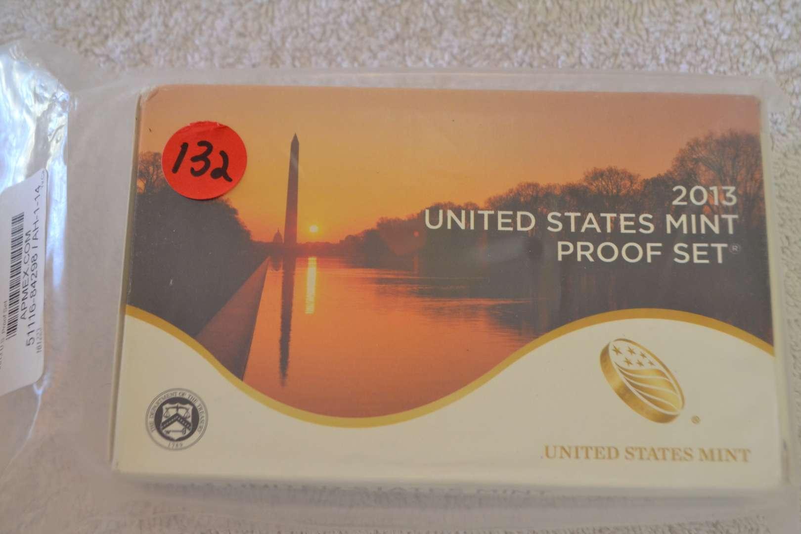 Lot # 132 2013 UNITED STATES MINT PROOF SET