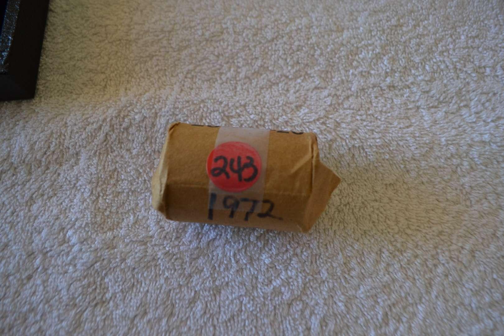 Lot # 243 ONE ROLL 1972 EISENHOWER DOLLARS