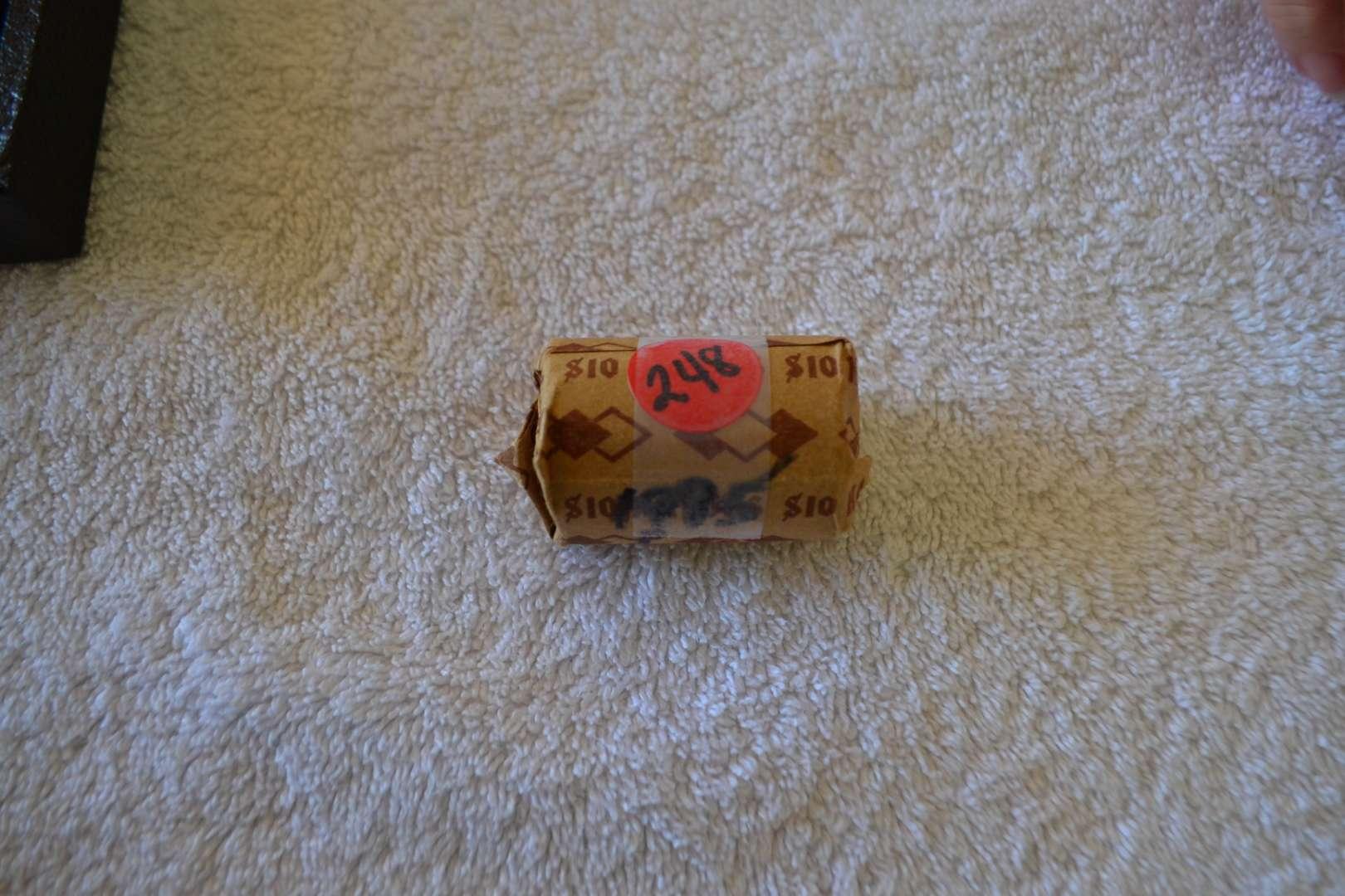 Lot # 248 ONE ROLL 1995 P KENNEDY HALF DOLLARS