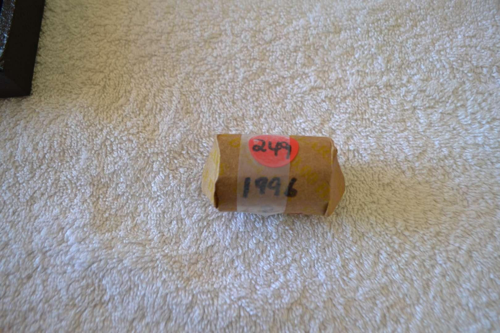Lot # 249 ONE ROLL 1996 P KENNEDY HALF DOLLAR