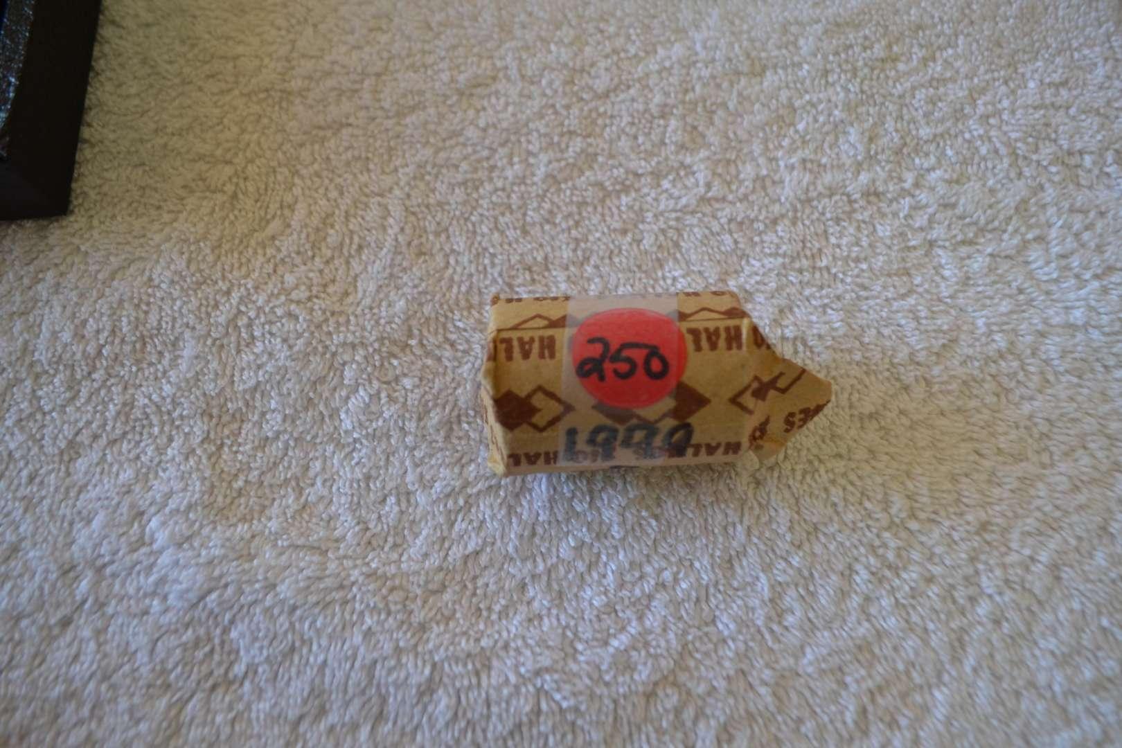 Lot # 250 ONE ROLL 1999 D KENNEDY HALF DOLLARS