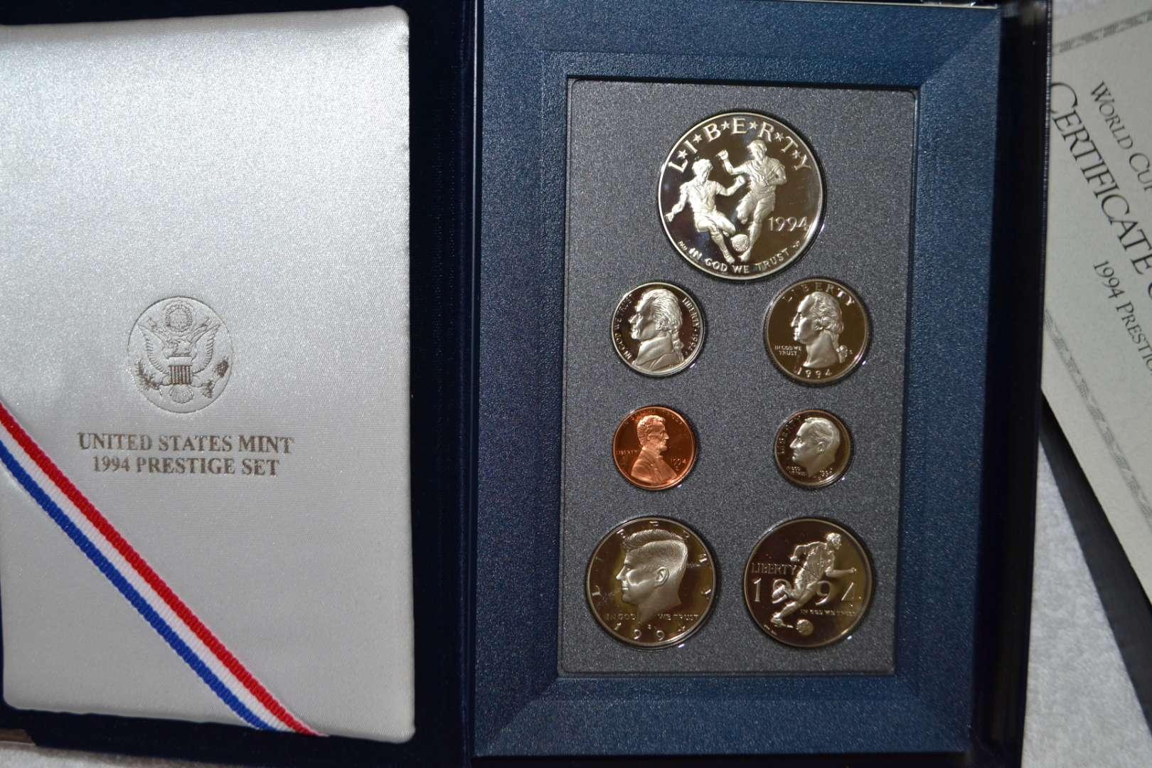 Lot # 319 1994 UNITED STATES MINT PRESTIGE SET