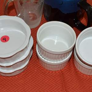 Lot # 9 LOT OF DIPPING SAUSE BOWLS