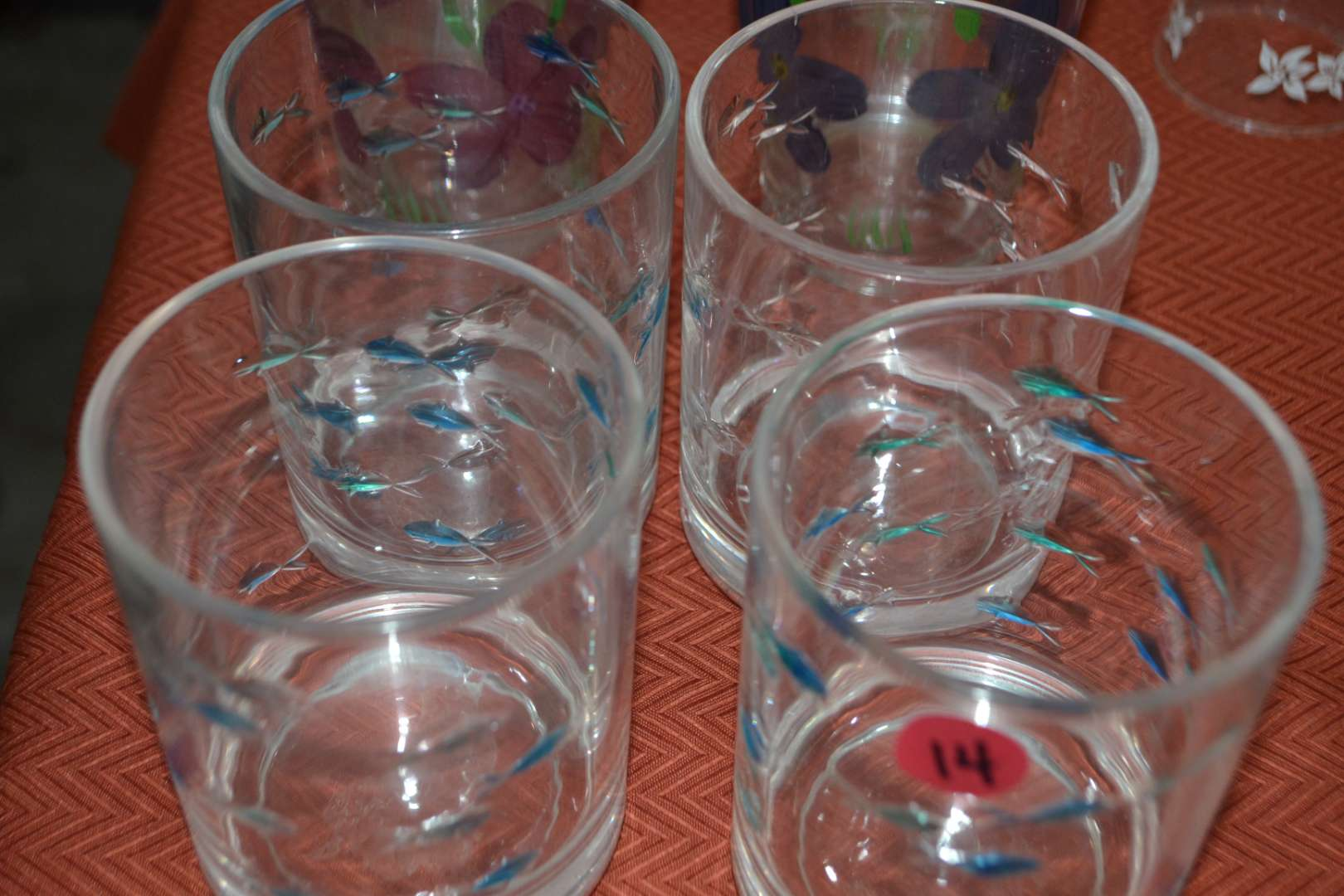 Lot # 14 ASSORTED DRINKING GLASSES