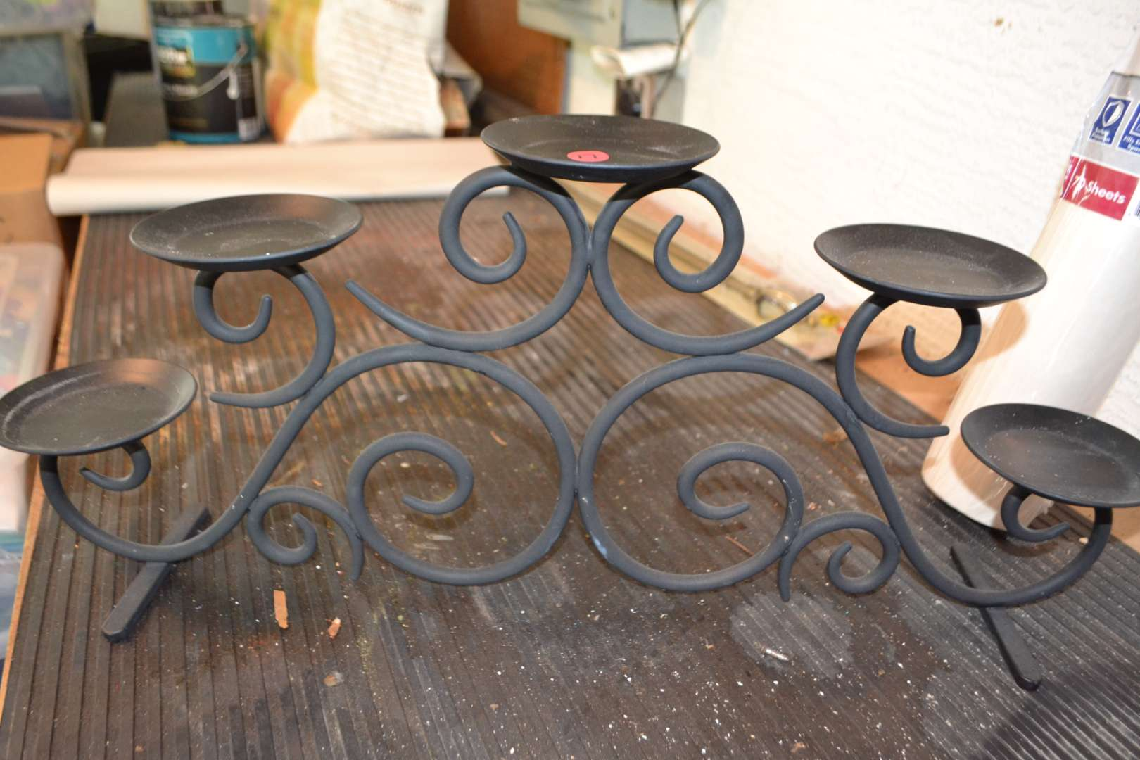 Lot # 17 PRETTY CANDLE HOLDER