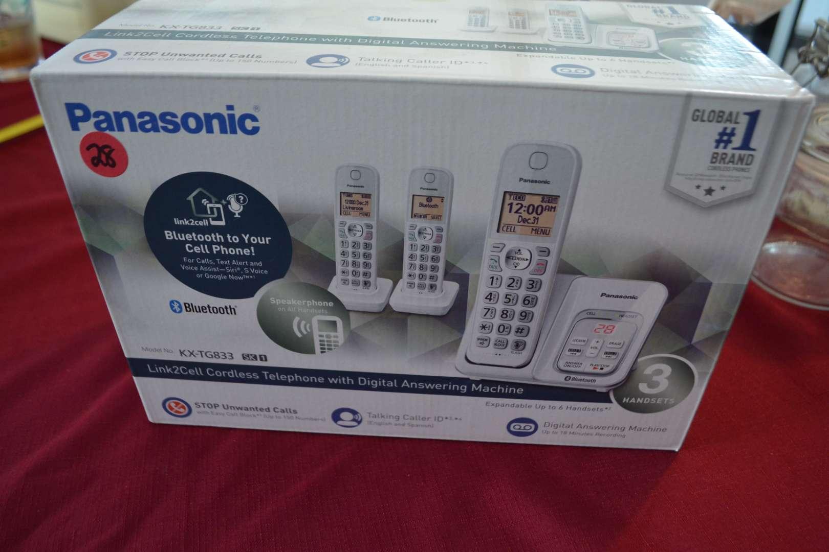 Lot # 28 PANASONIC PHONE SYSTEM