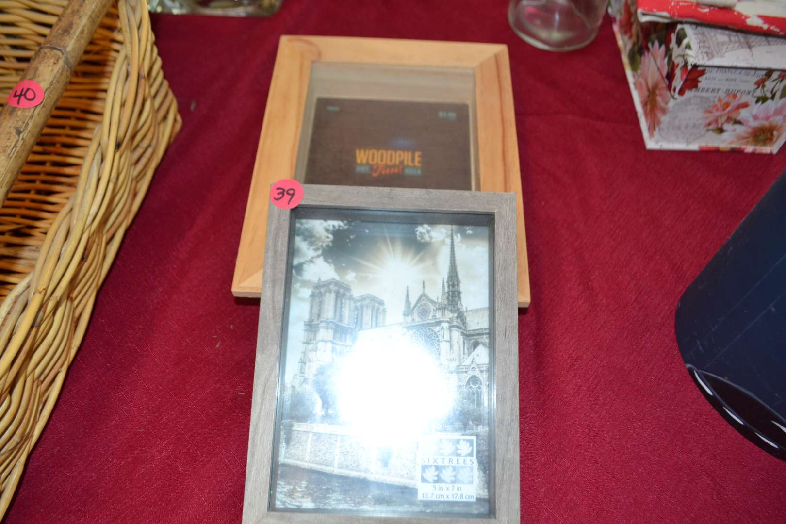 Lot # 39 TWO NEW PICTURE FRAMES
