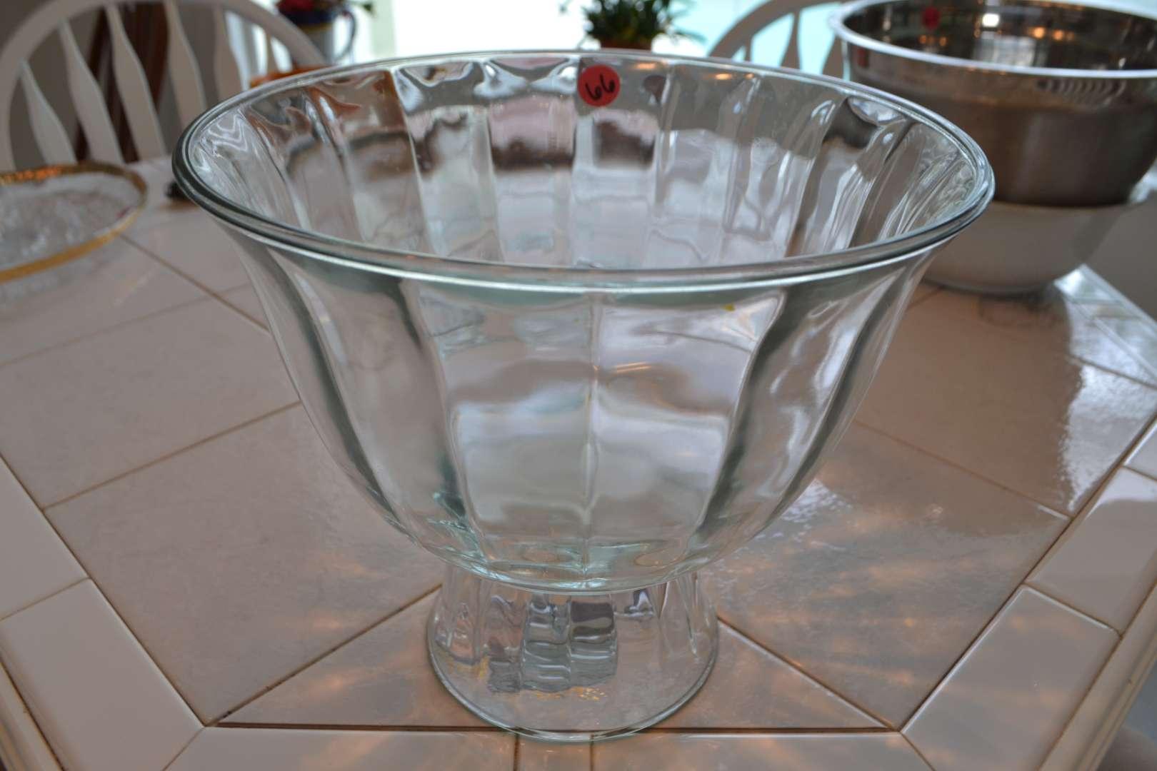 Lot # 66 GLASS TRUFFLE BOWL