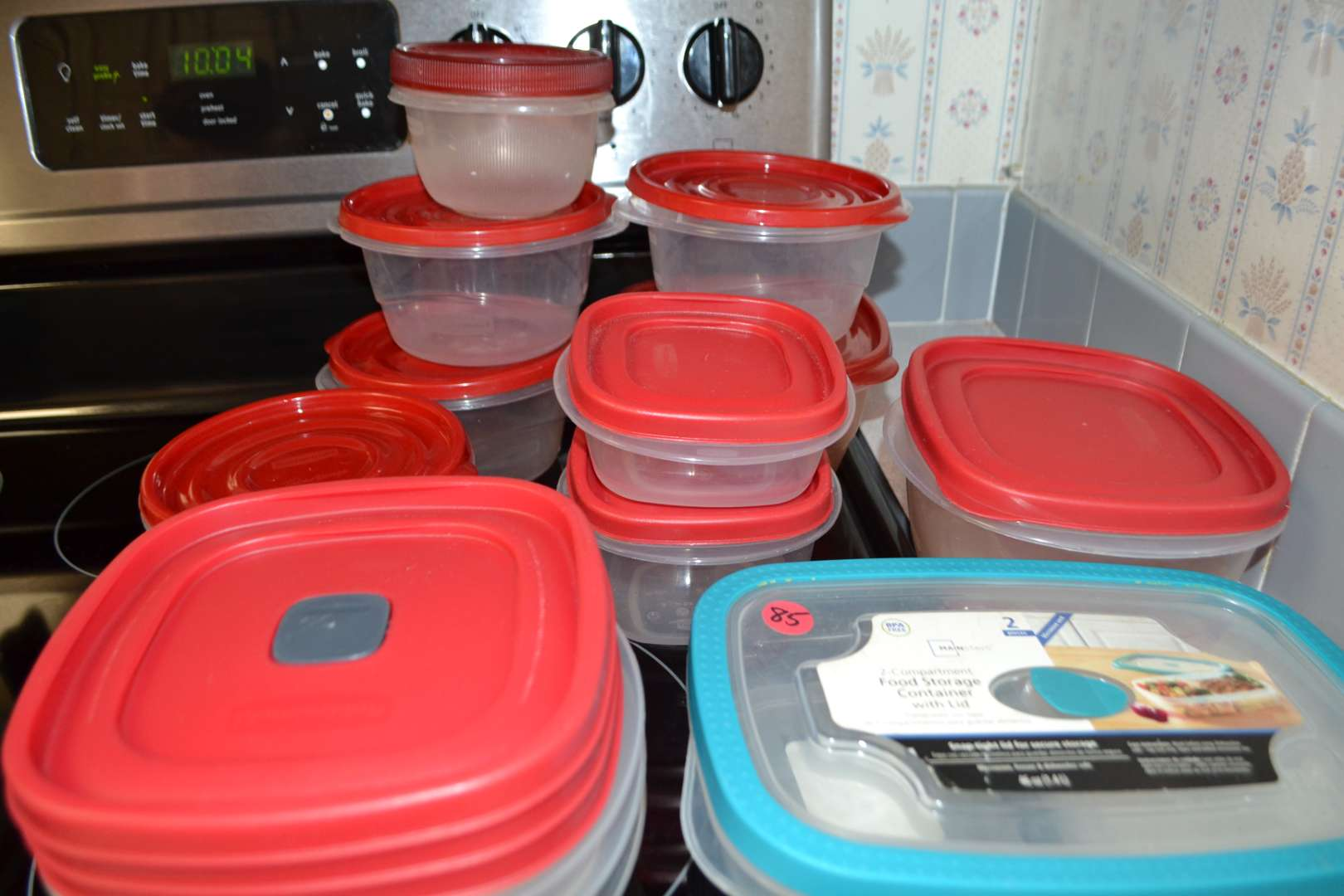 Lot # 85 LOT OF STORAGE CONTAINERS