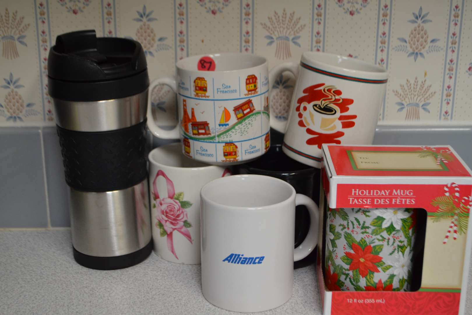 Lot # 87 LOT OF COFFEE CUPS