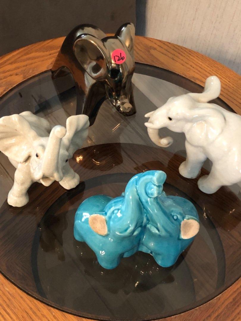 Lot # 126 ELEPHANT DECOR