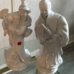Lot # 127 TWO ASIAN STATUES