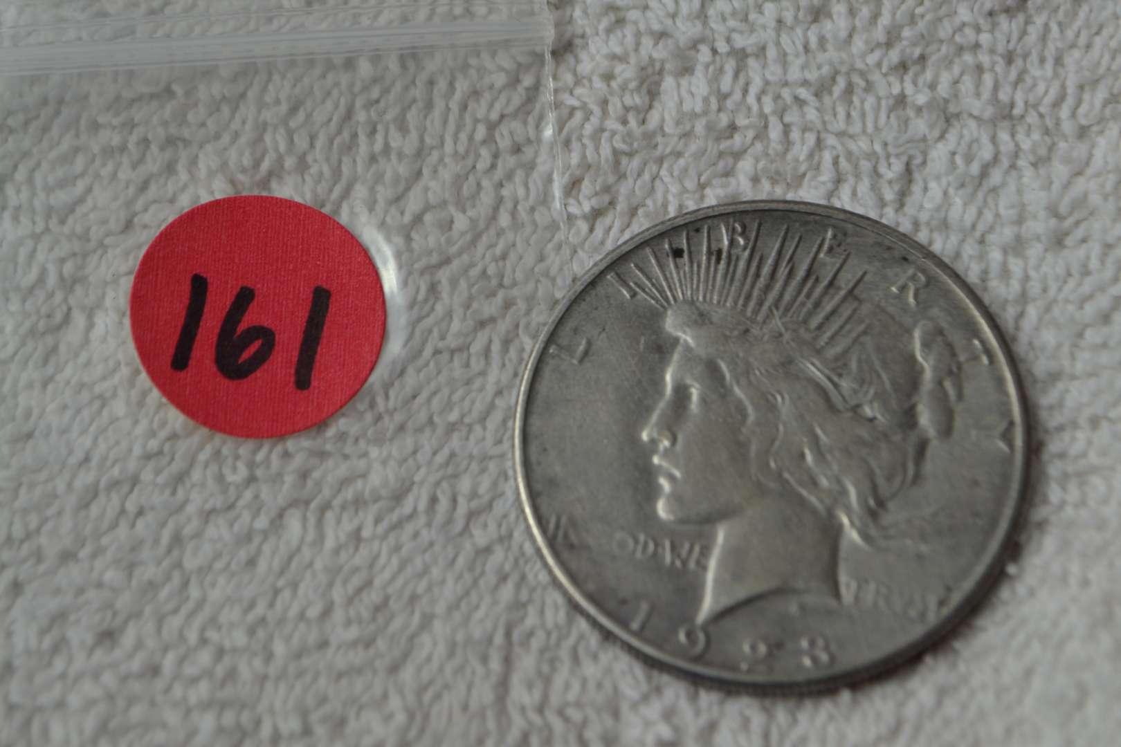 Lot # 162 1923-S SILVER PEACE DOLLAR
