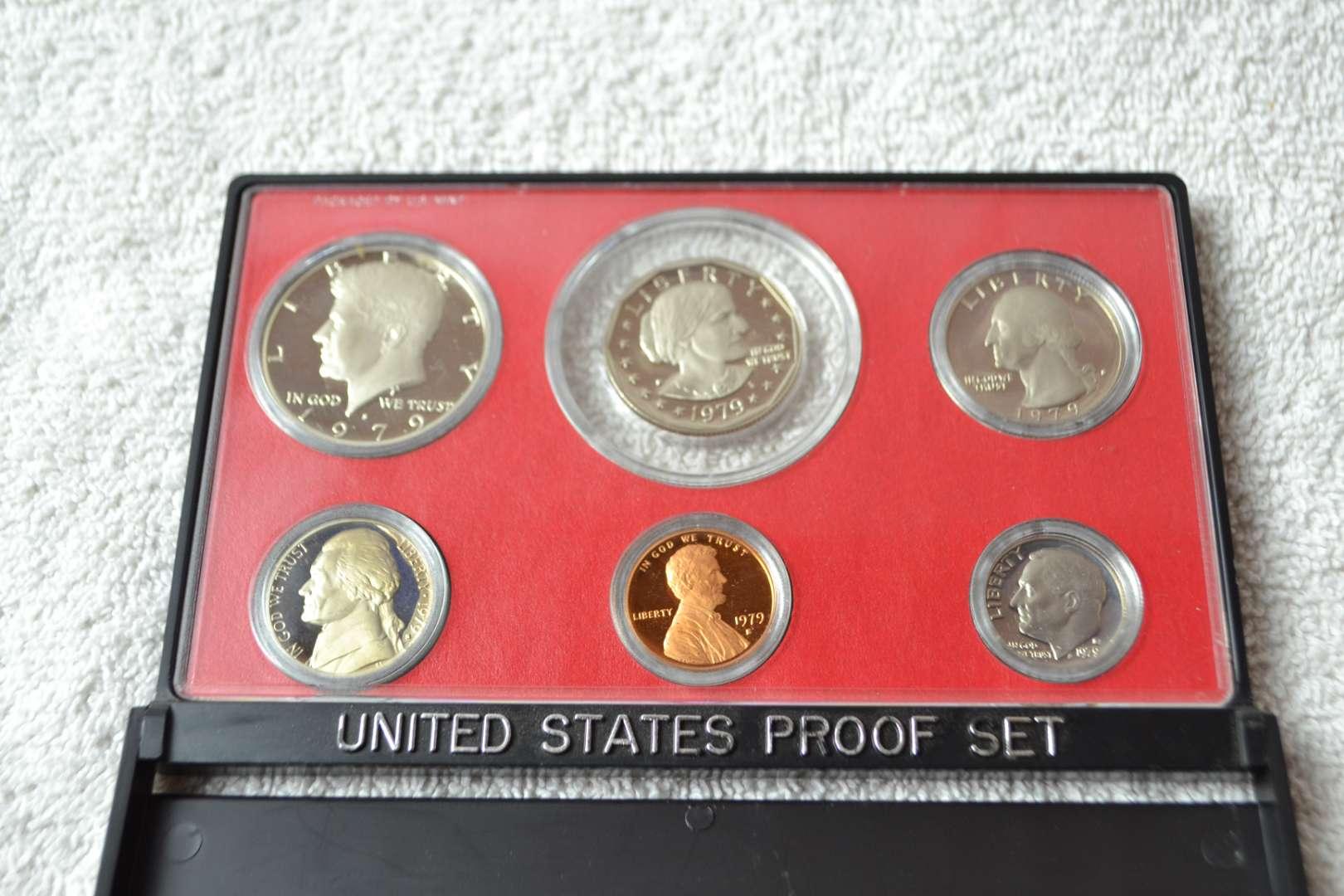 Lot # 192 1979 UNITED STATES PROOF SET