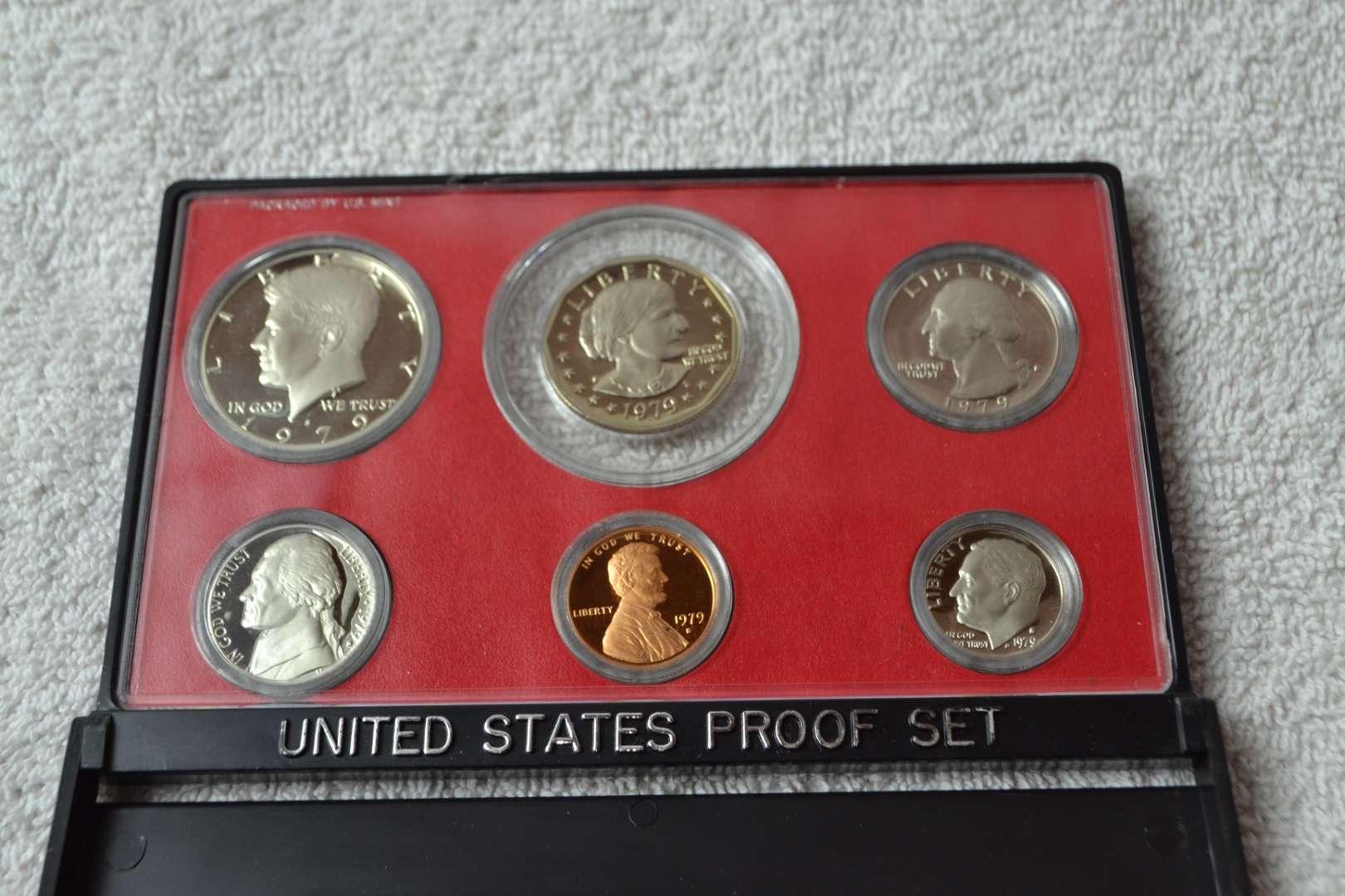 Lot # 193 1979 UNITED STATES PROOF SET