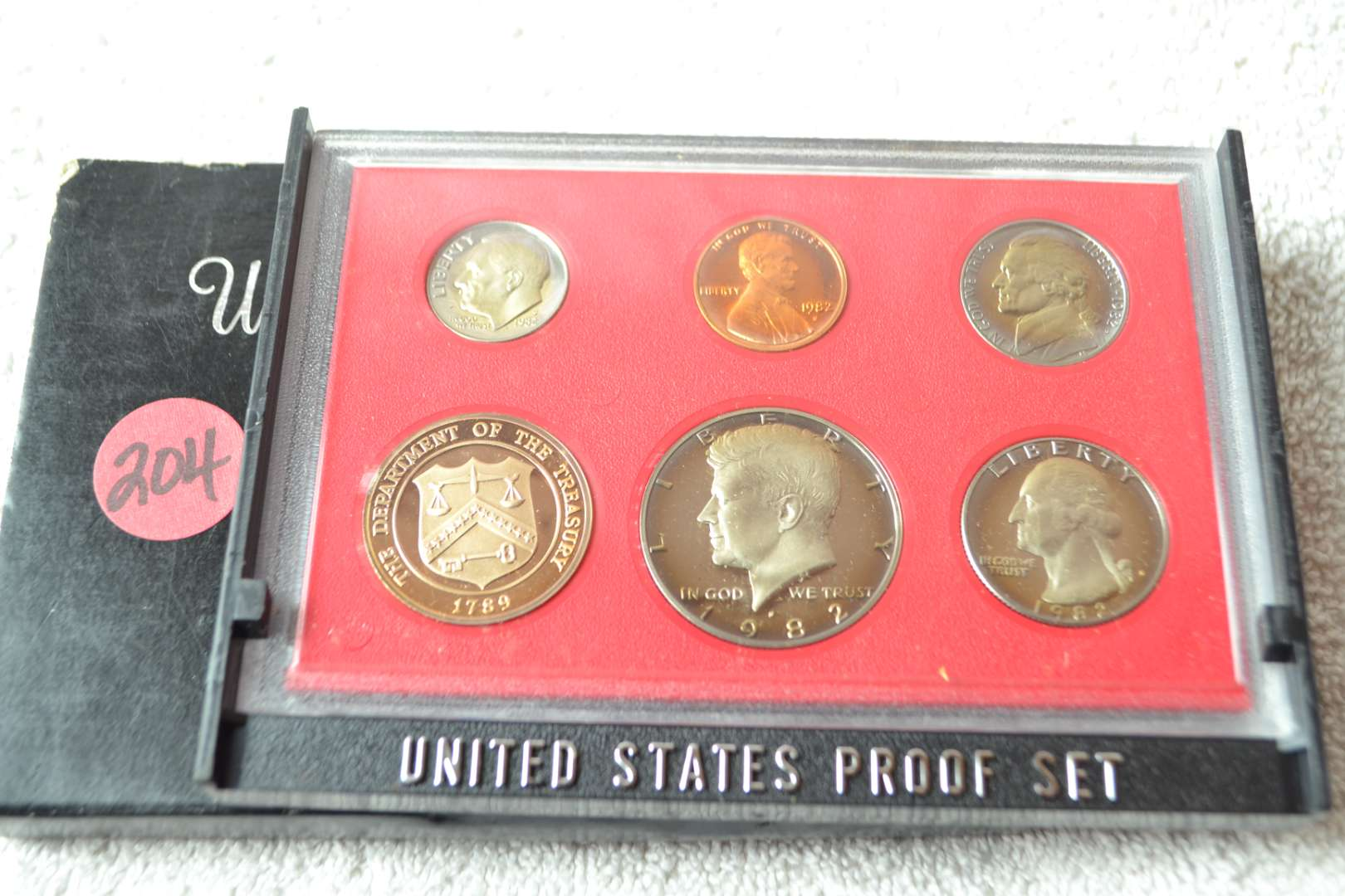 Lot # 204 1983 UNITED STATES PROOF SET