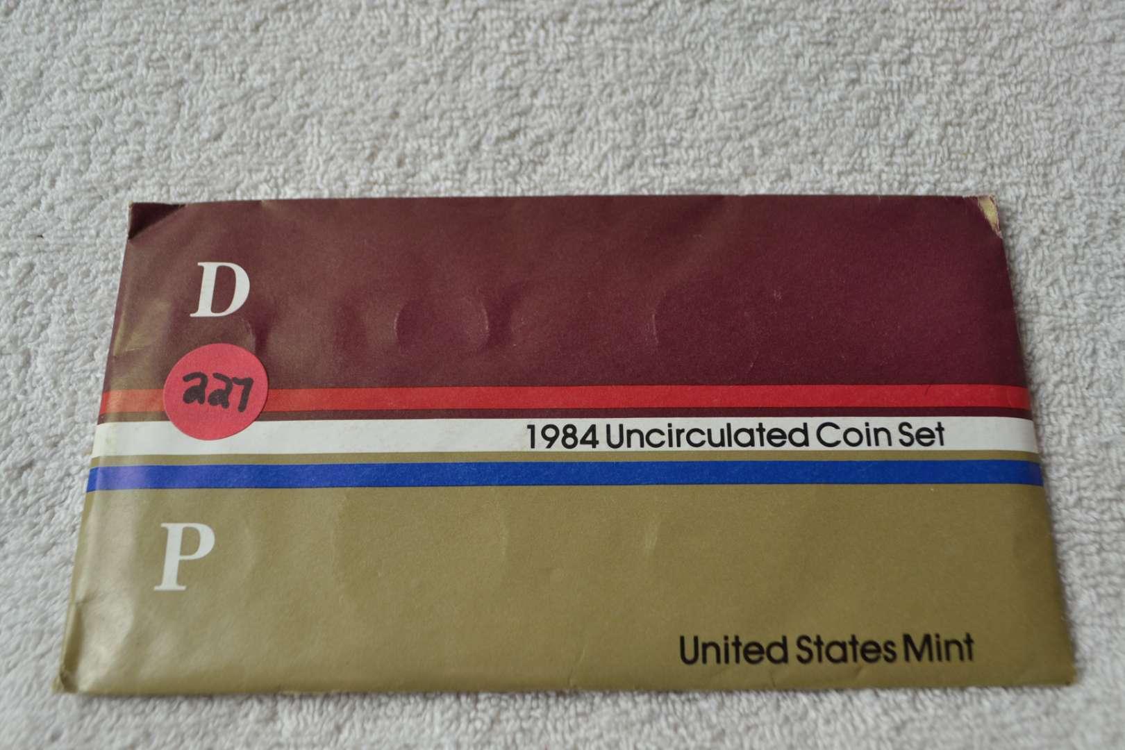 Lot # 227 1984 UNITED STATES MINT SET