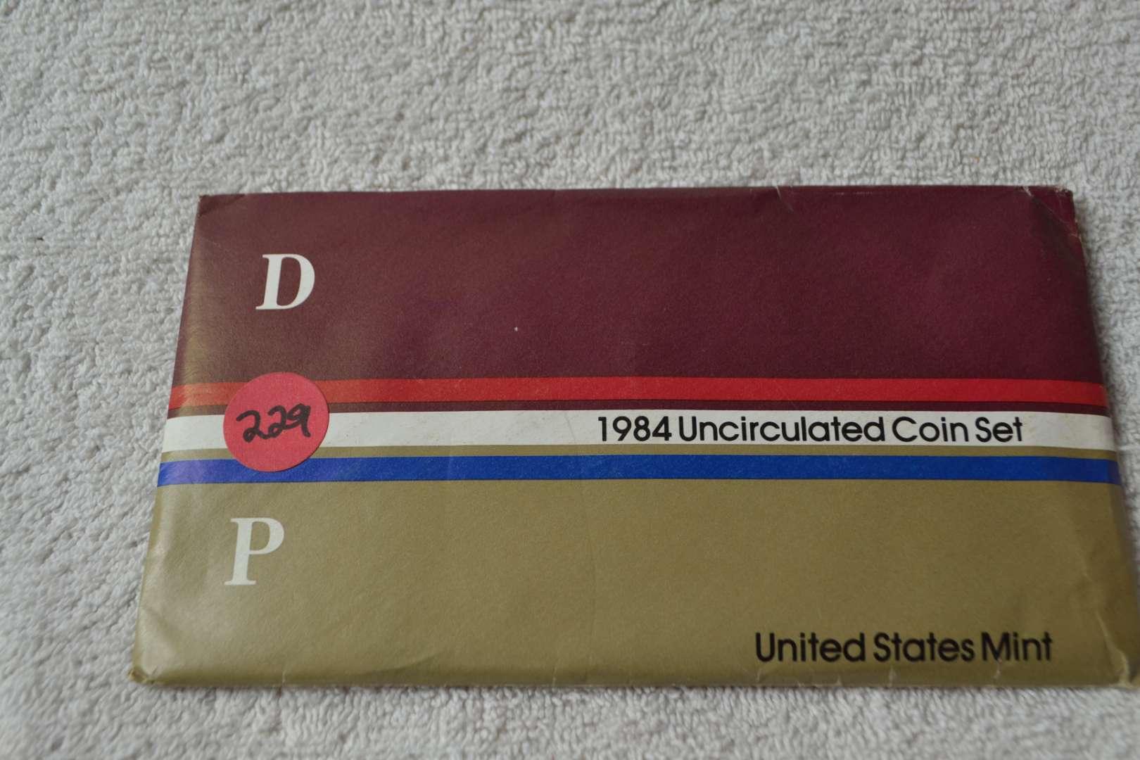 Lot # 229 1984 UNITED STATES MINT SET