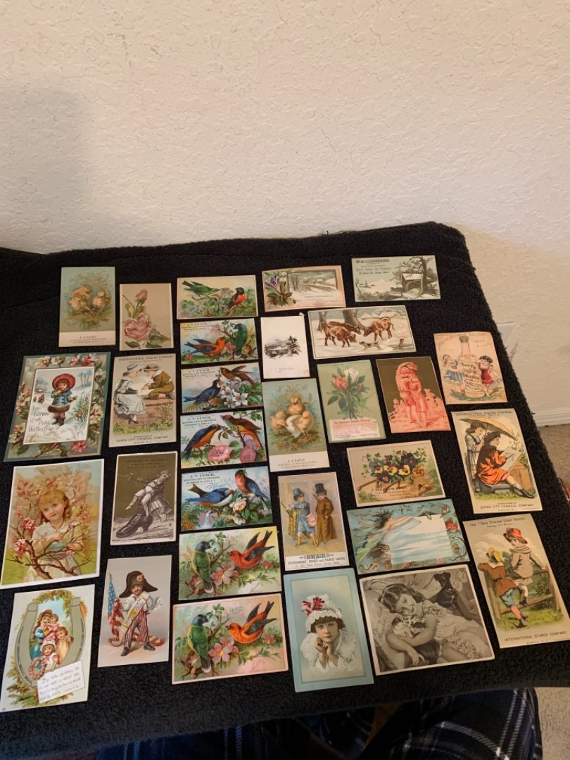 Lot # 13 See Lot 4 Description. Great Lot Antique Victorian Trade Cards