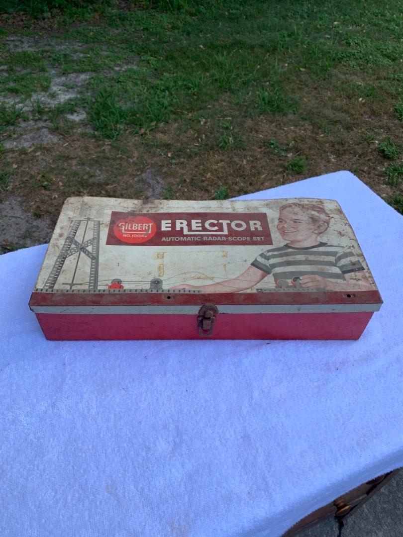 Lot # 41 Vintage Erector Set. Gilbert No 10042. Radar Scope Set