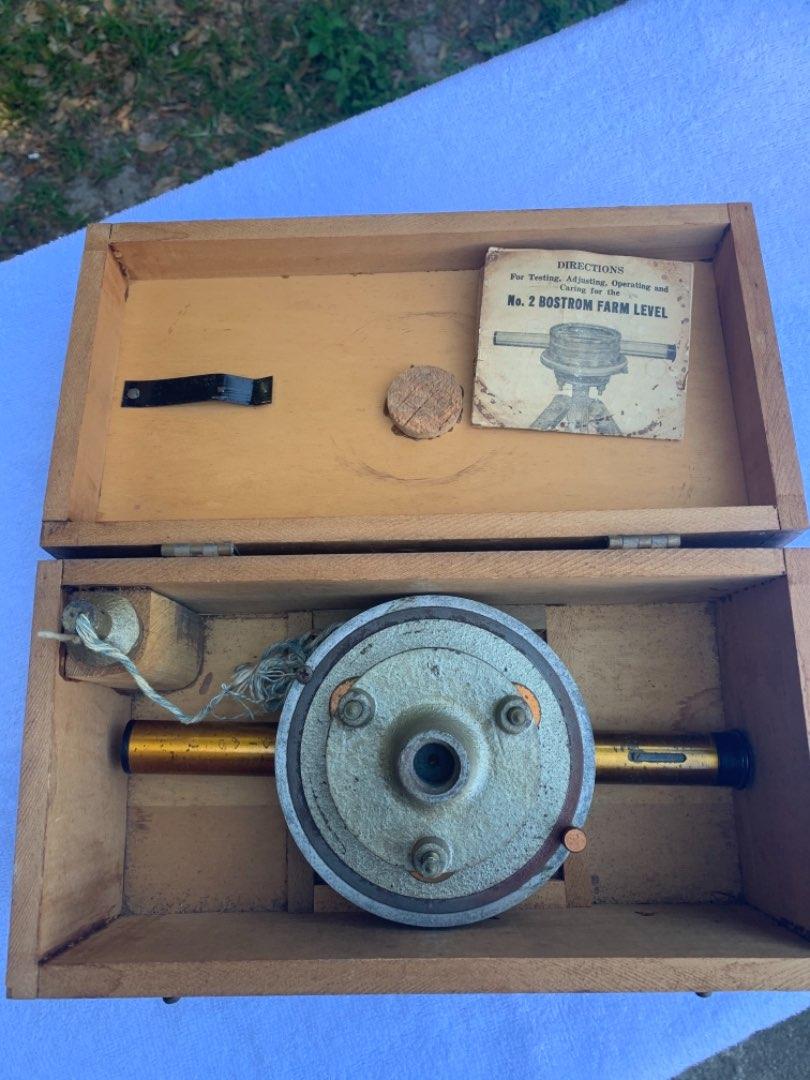 Lot # 48 Antique Bostrom-Brady Co No.2 Farm Level Complete In Box
