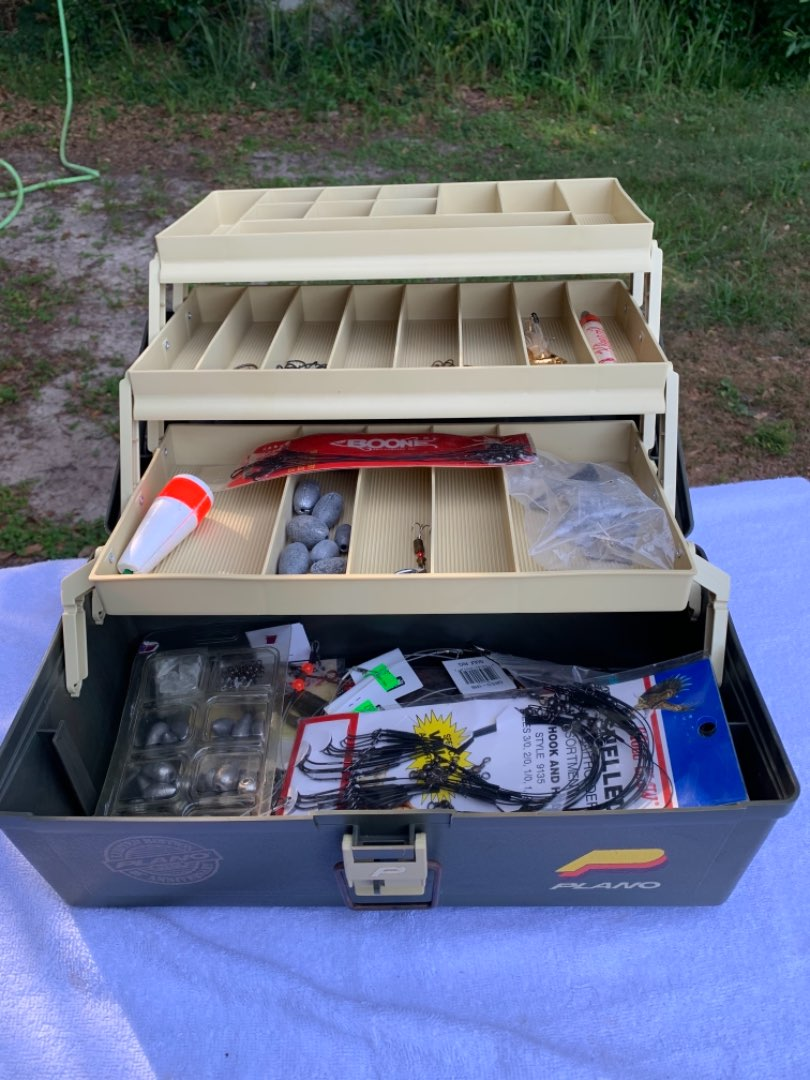 Lot # 113 Another Nice Plano Tackle Box With Lots of Stuff