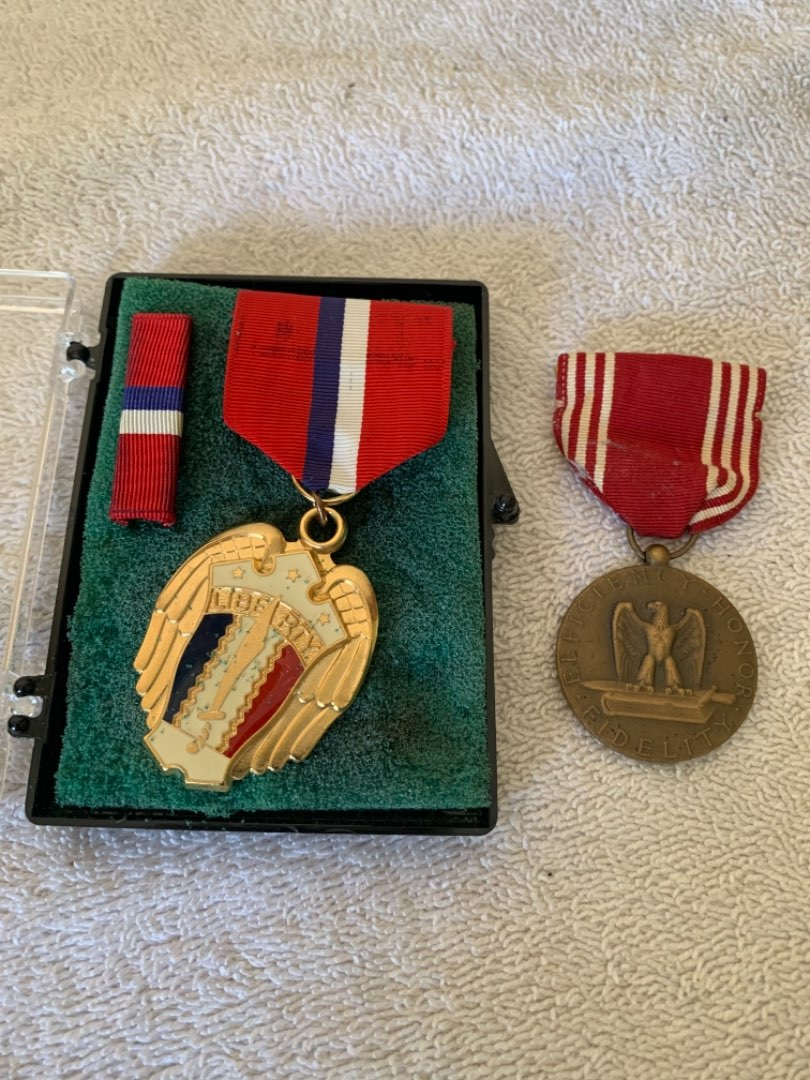 Lot # 163 WW2 Medals Including Liberation Of The Philippines In Case