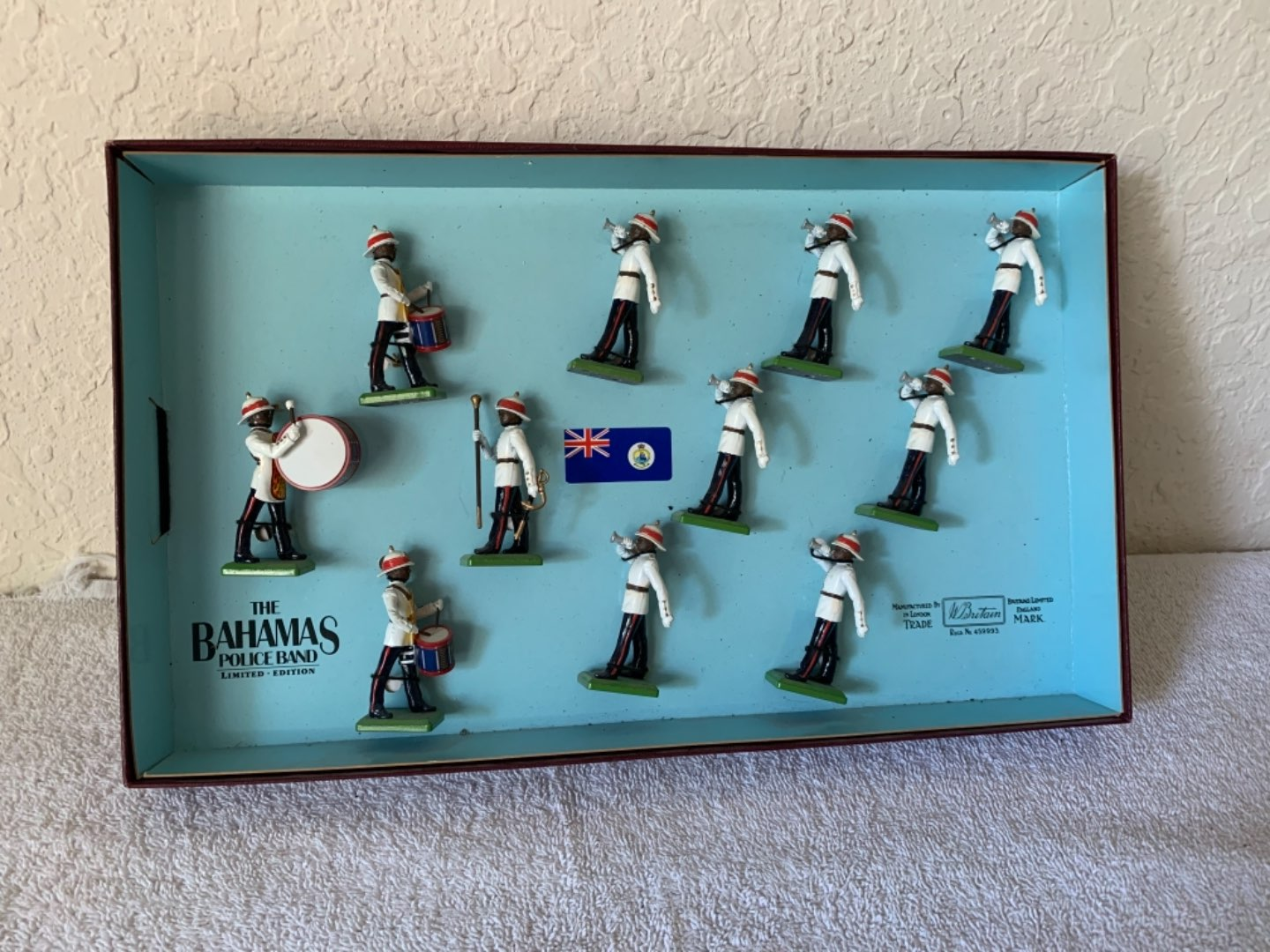 Lot # 263 Vintage Set Bahama Limited Edition Britain's Lead Police Band
