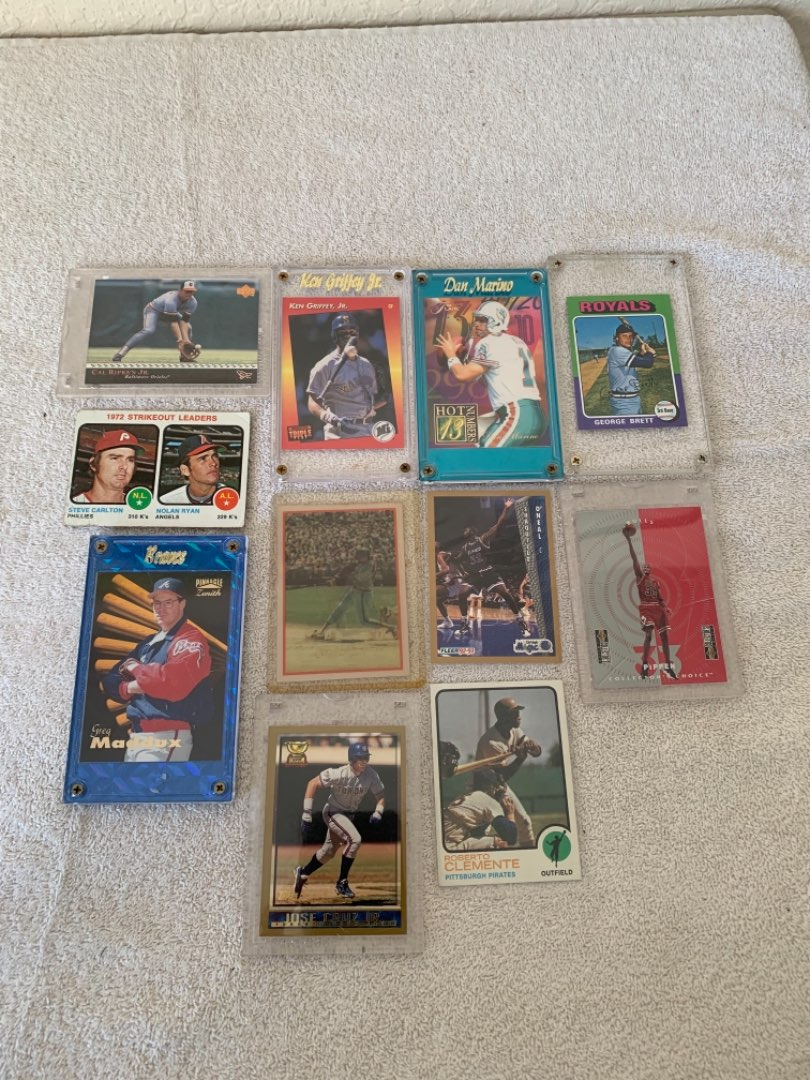 Lot # 271 2nd Lot Assorted Vintage Sports Cards. See Below