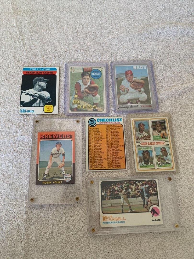 Lot # 272 Last lot Loose Vintage Sports Cards. See Below