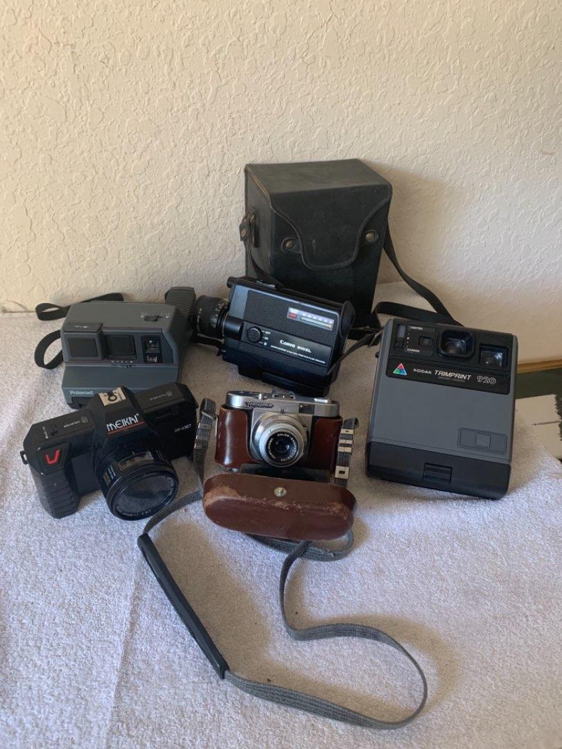 Lot # 297   Vintage Camera Lot. 5 Cameras