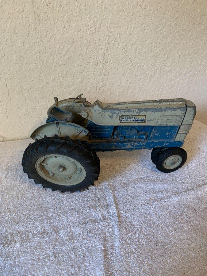 Lot # 300  Vintage Hubley Ford Tractor Diesel 6000.