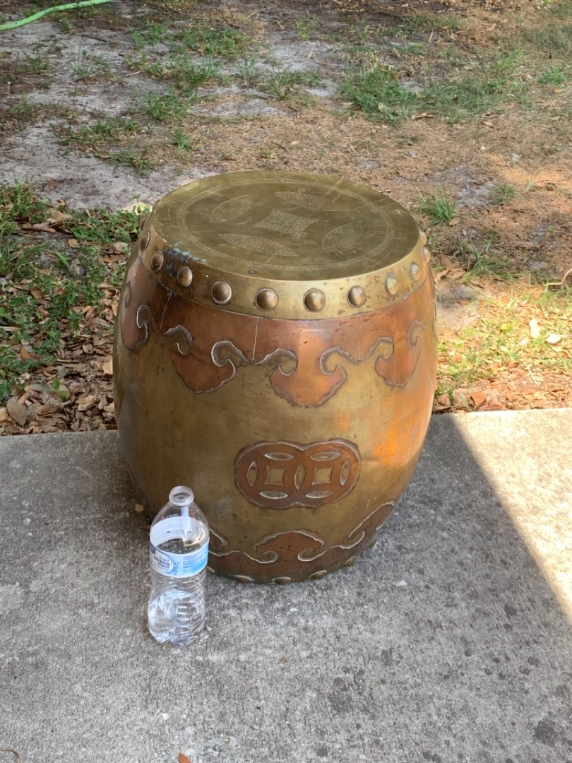 Lot # 330 A Very Nice & Old Copper/Brass Whatchamacallit. See Below