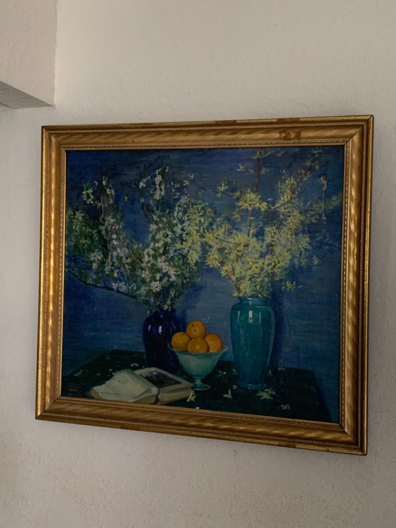 Lot # 341 WOOOW!! Another Artist Signed Painting Sold In Same Auction As Last Lot! See Below