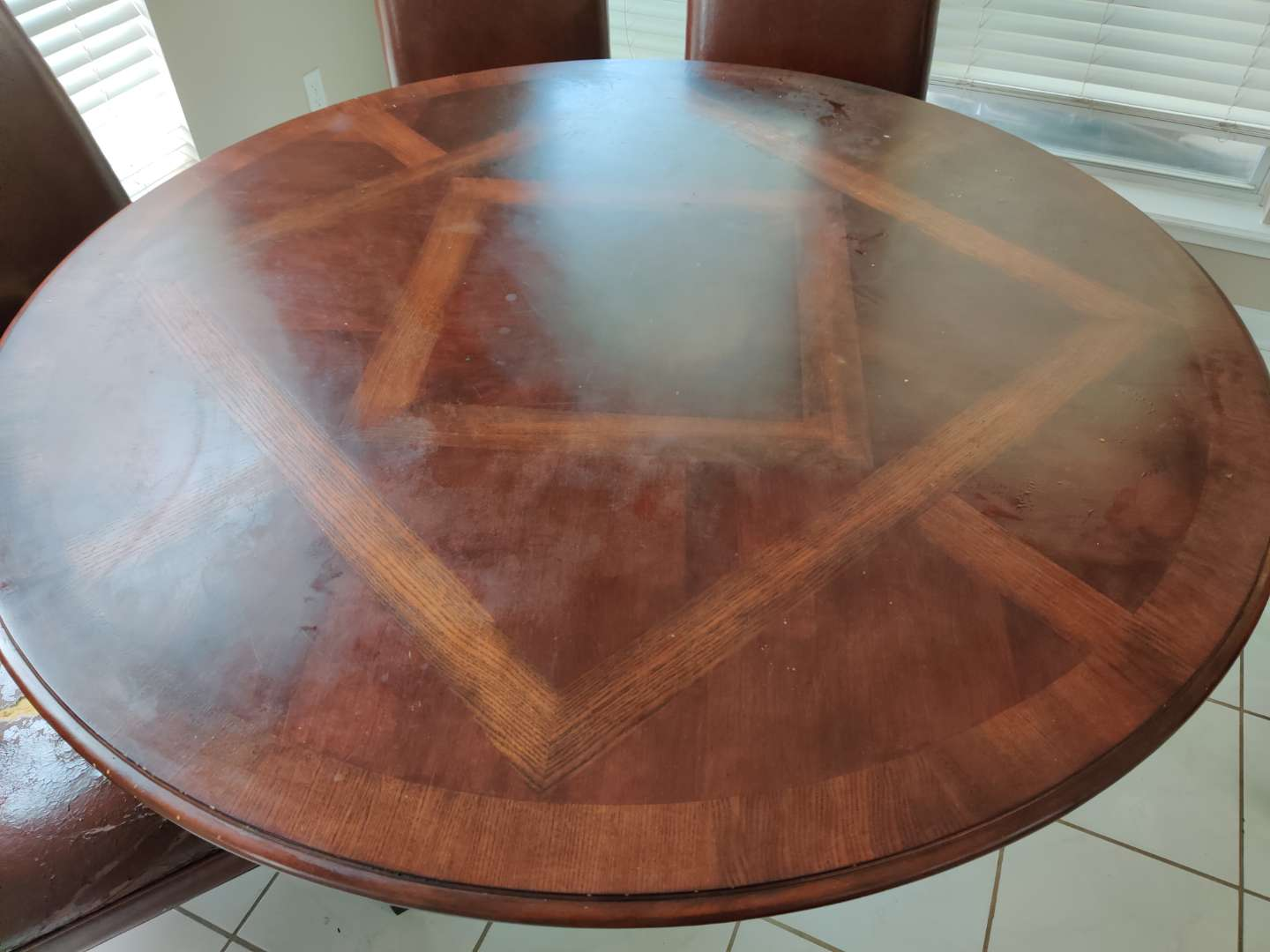 44 round kitchen table with metal base 60 in wide