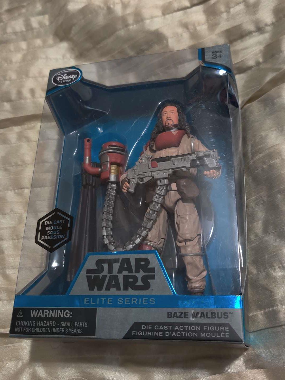 87 Star wars baze malbus diecast action figure in box